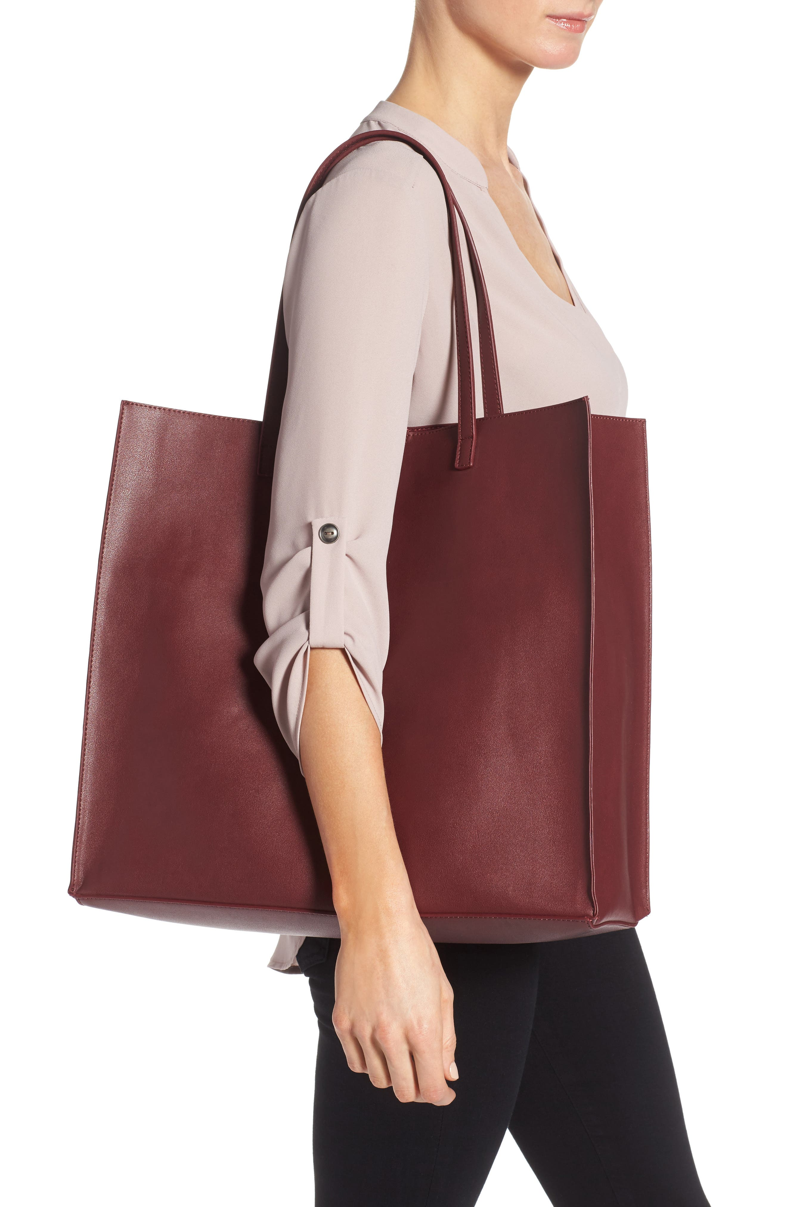 Alternate Image 2  - BP. Faux Leather Tote