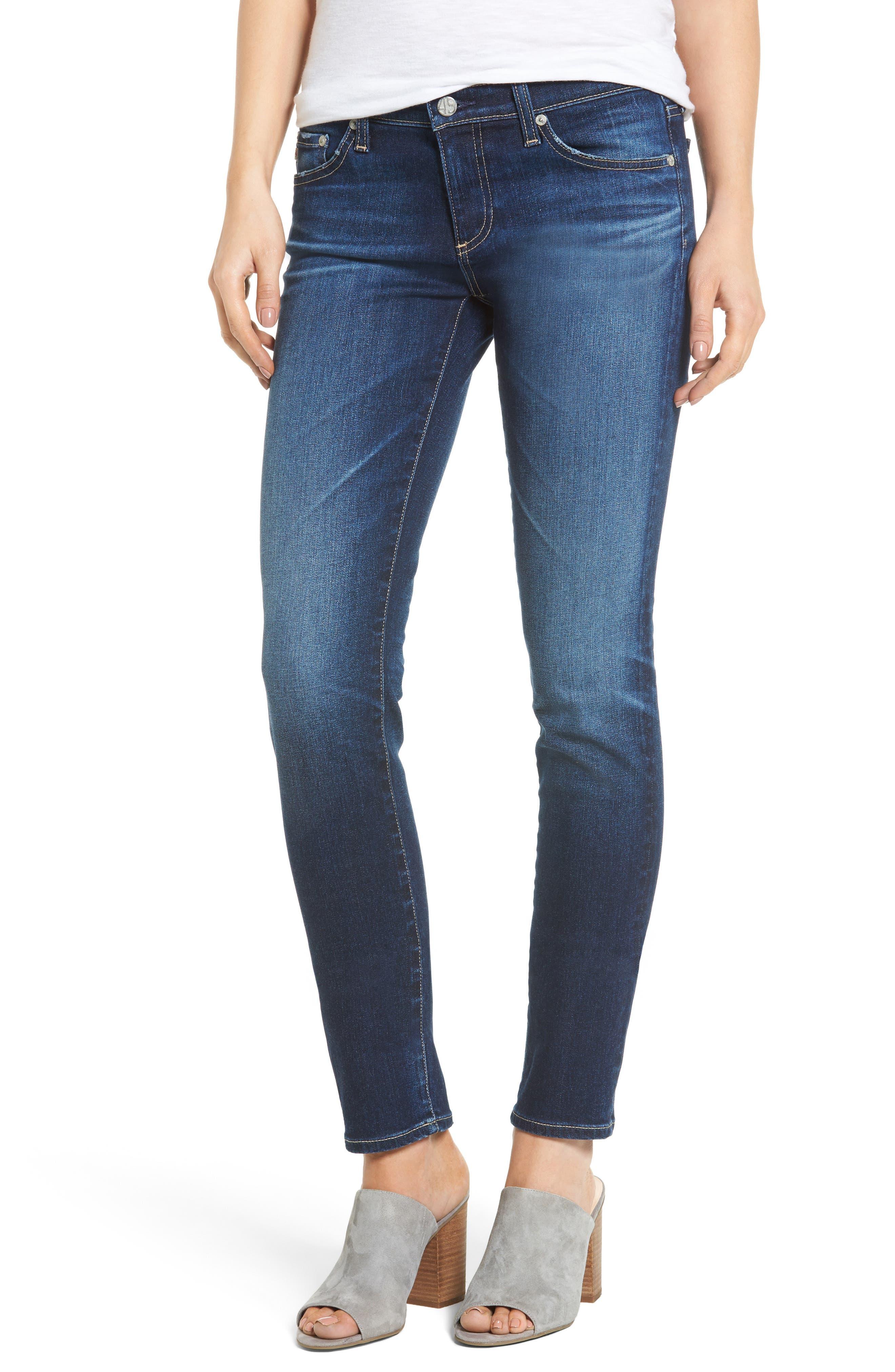 AG The Stilt Cigarette Skinny Jeans