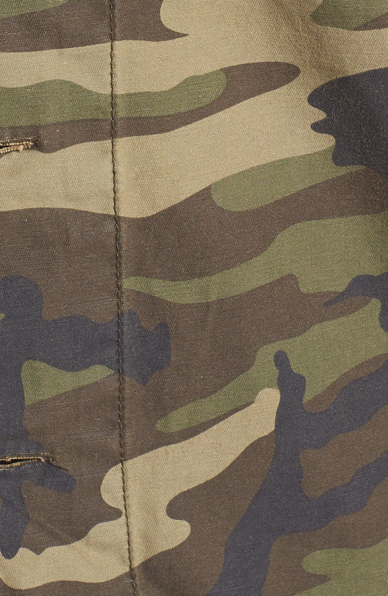 Alternate Image 5  - Thread & Supply Barton Camo Print Jacket