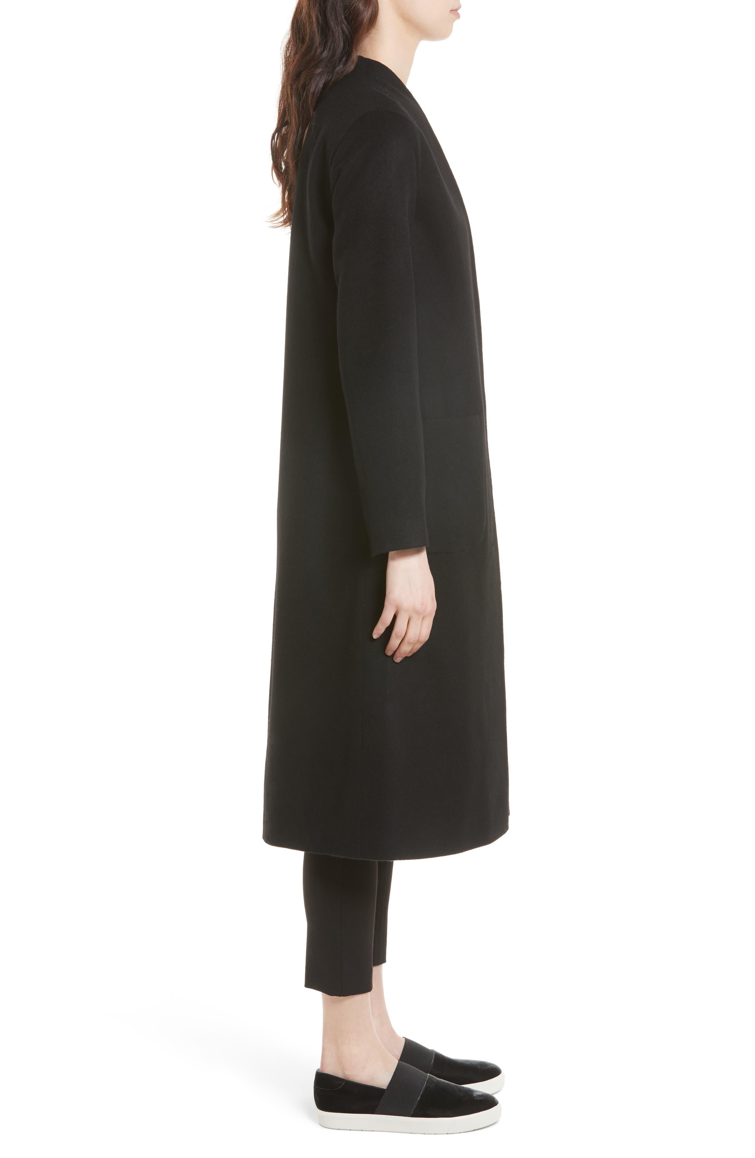 Alternate Image 3  - Helene Berman Wool & Cashmere Longline Coat