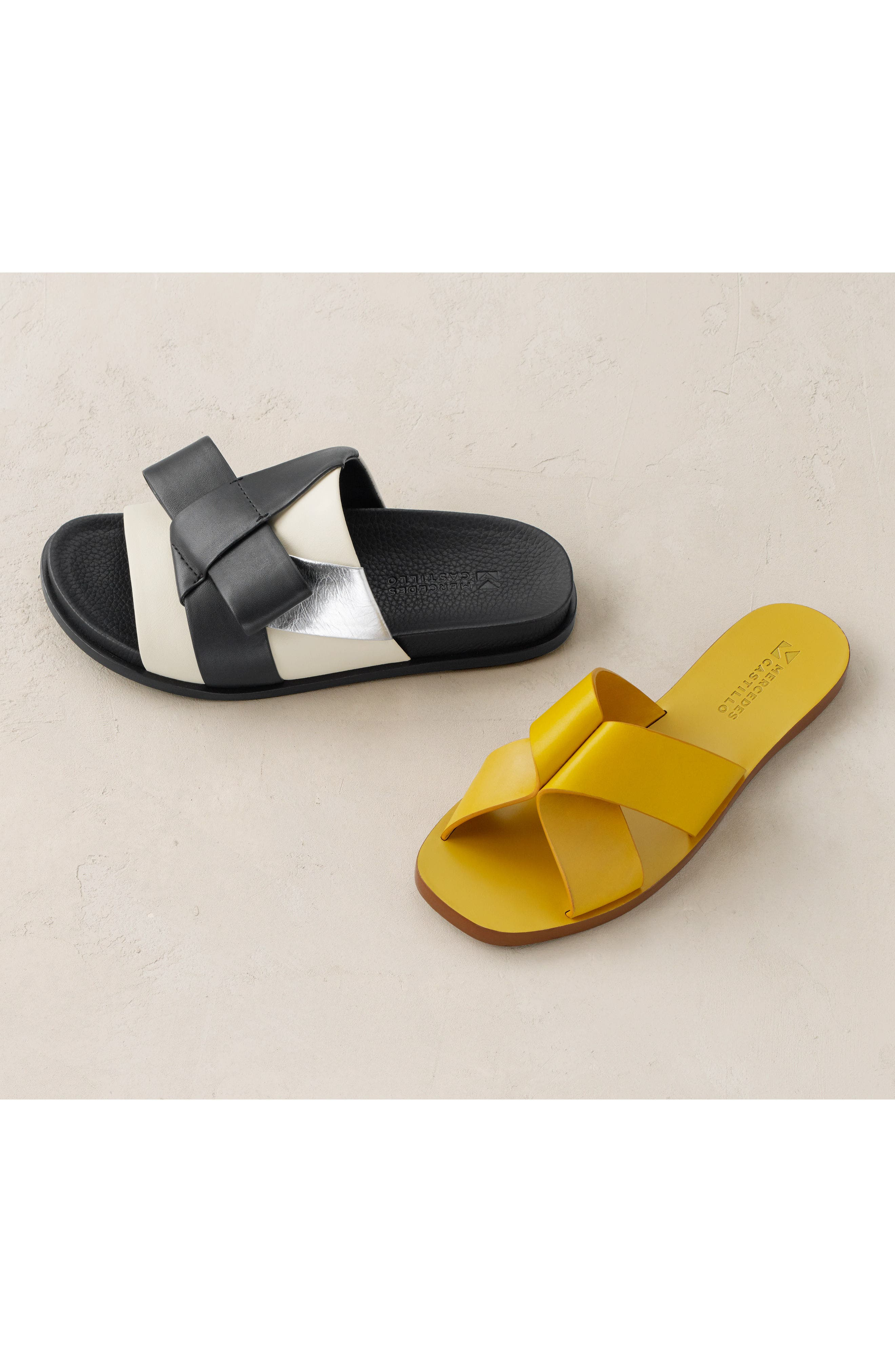 Alternate Image 6  - Mercedes Castillo Dafne Slide Sandal (Women)