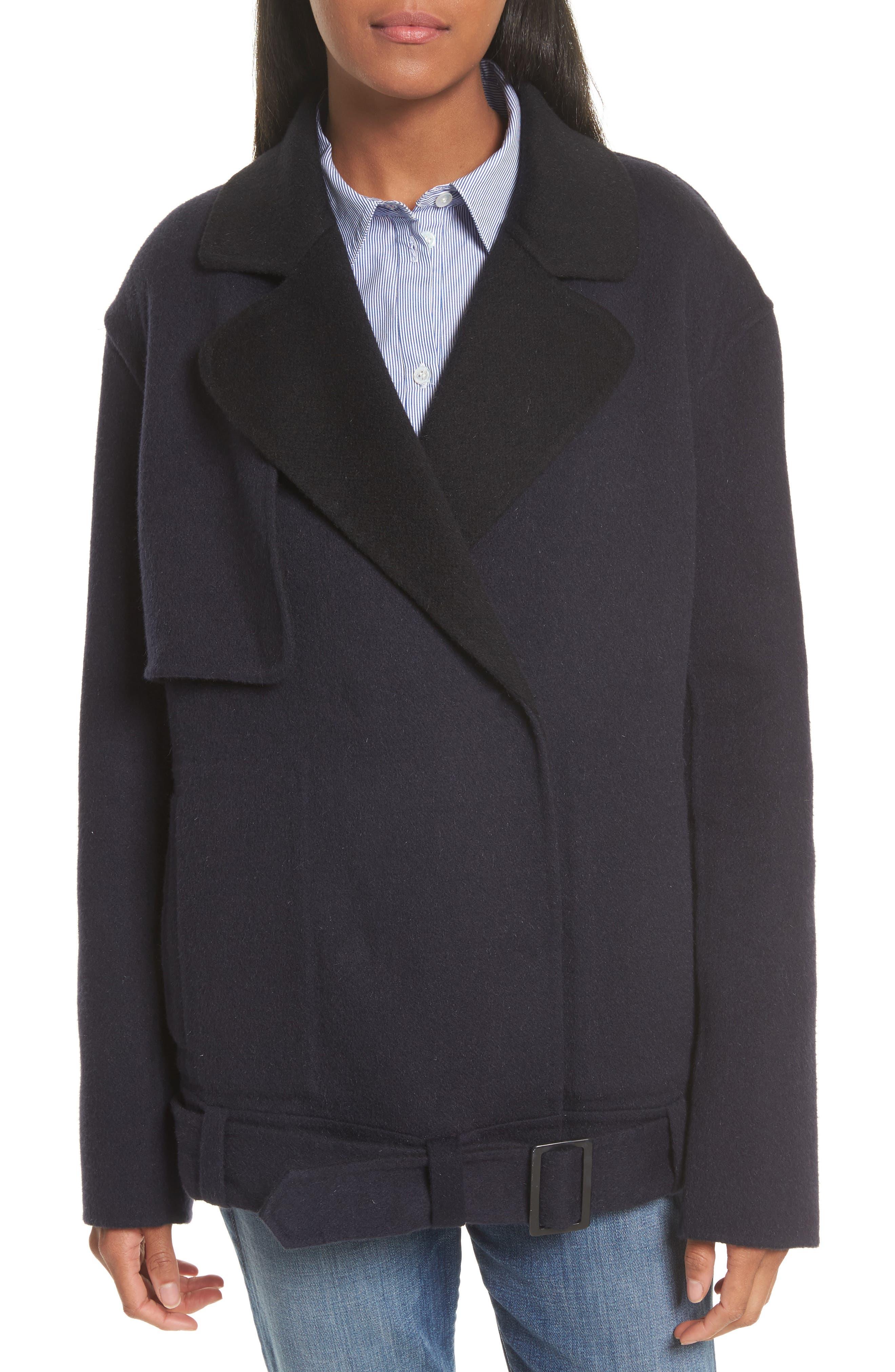 Tibi Meadow Wool & Mohair Jacket
