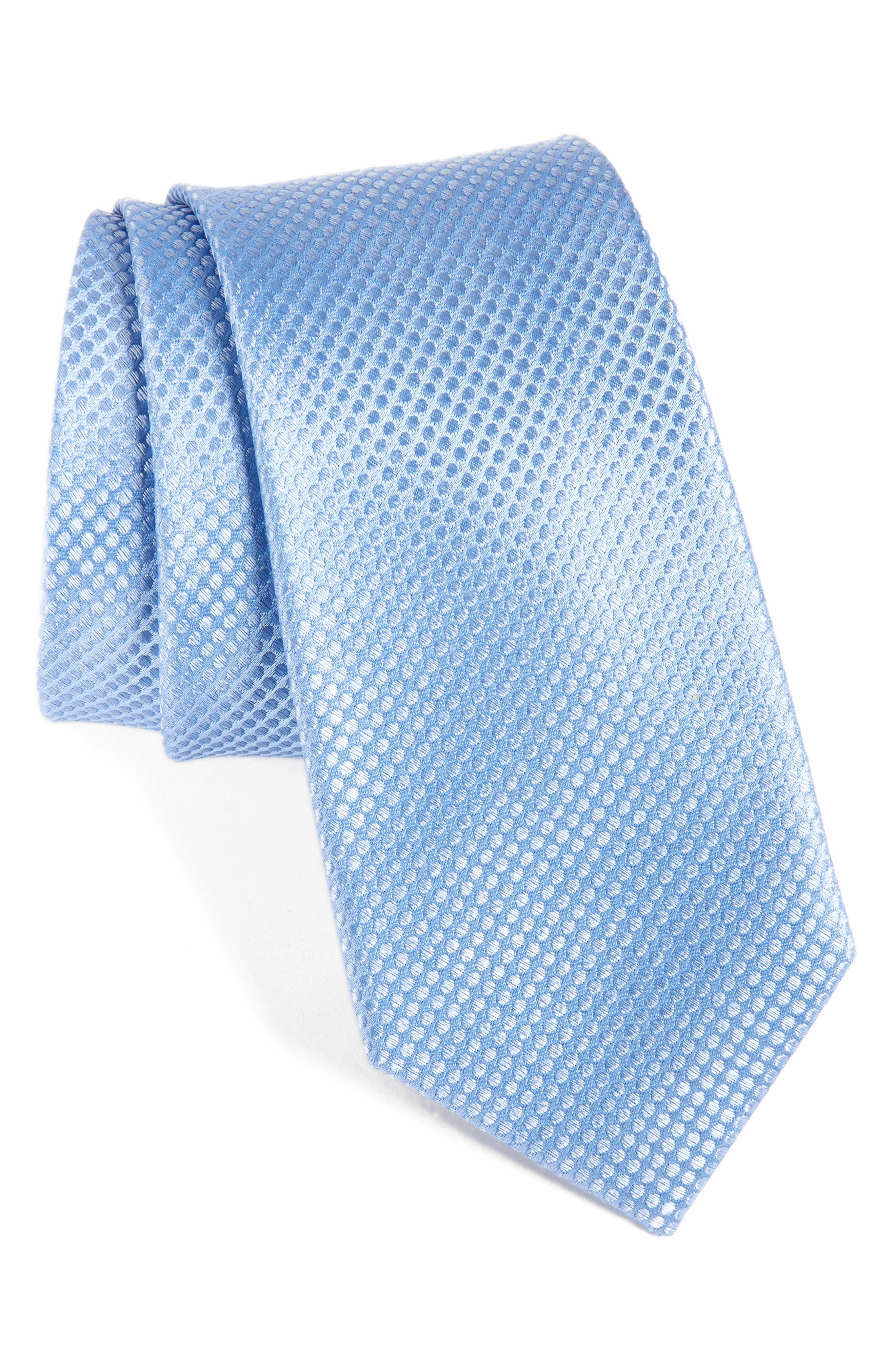 Calibrate Saturated Dot Silk Tie