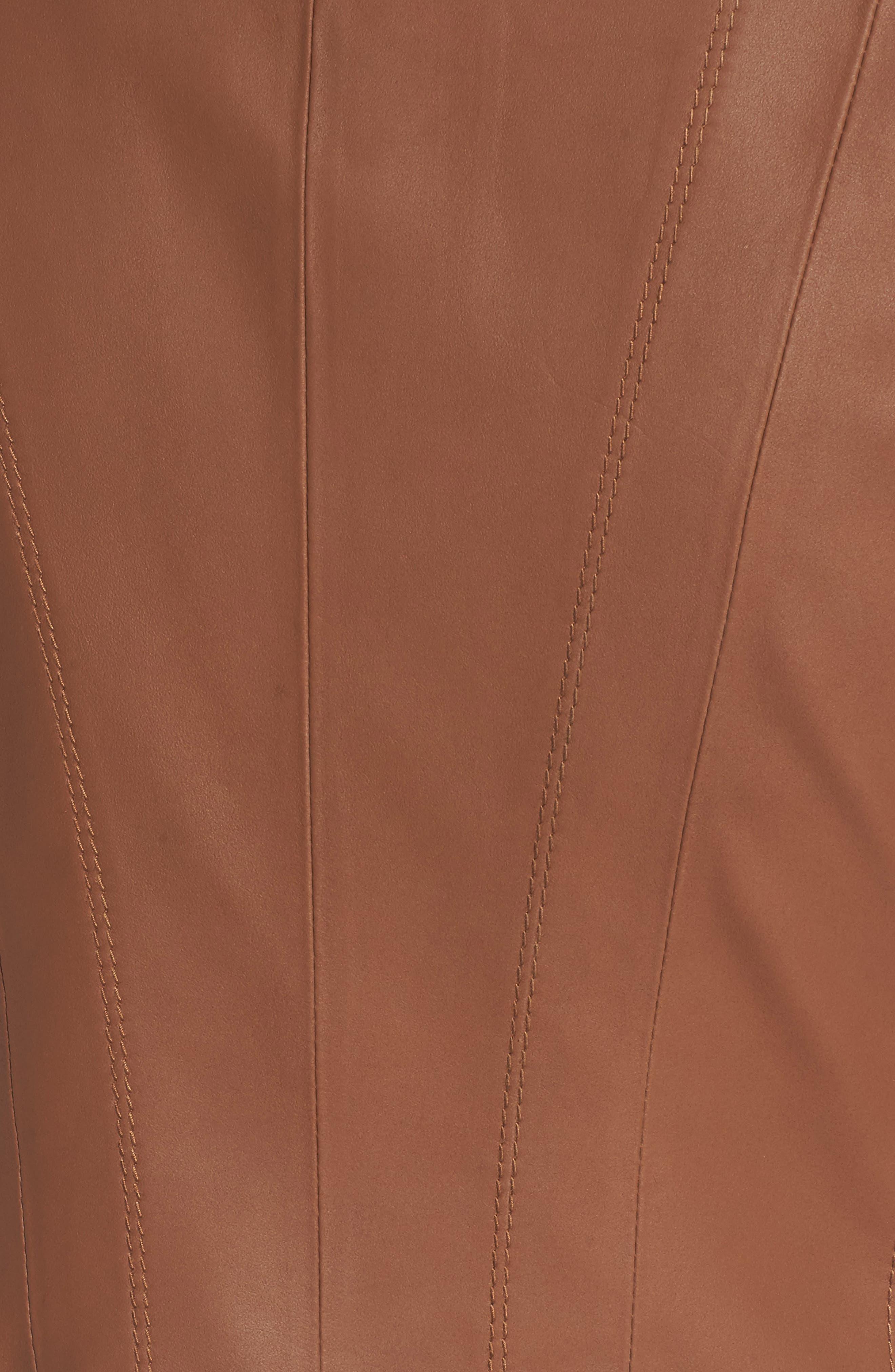 Alternate Image 5  - Andrew Marc Felicity Leather Moto Jacket