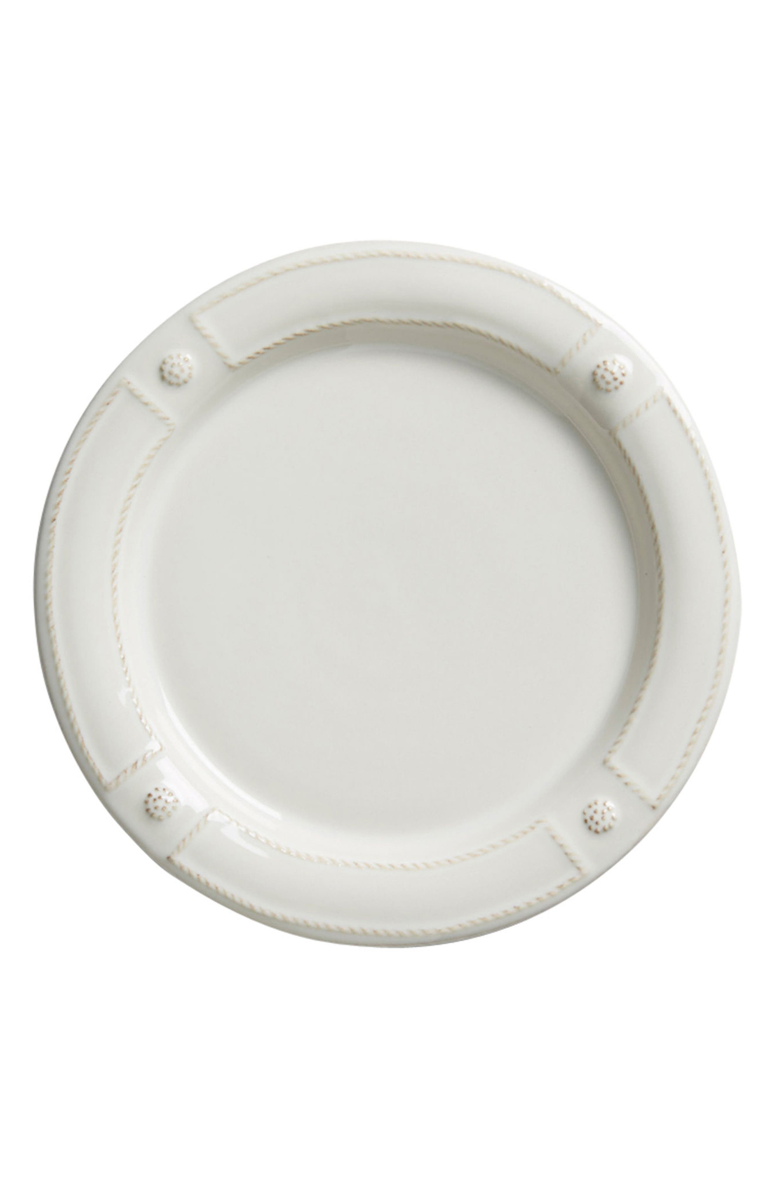Berry & Thread French Panel Ceramic Salad Plate,                             Main thumbnail 1, color,                             Whitewash