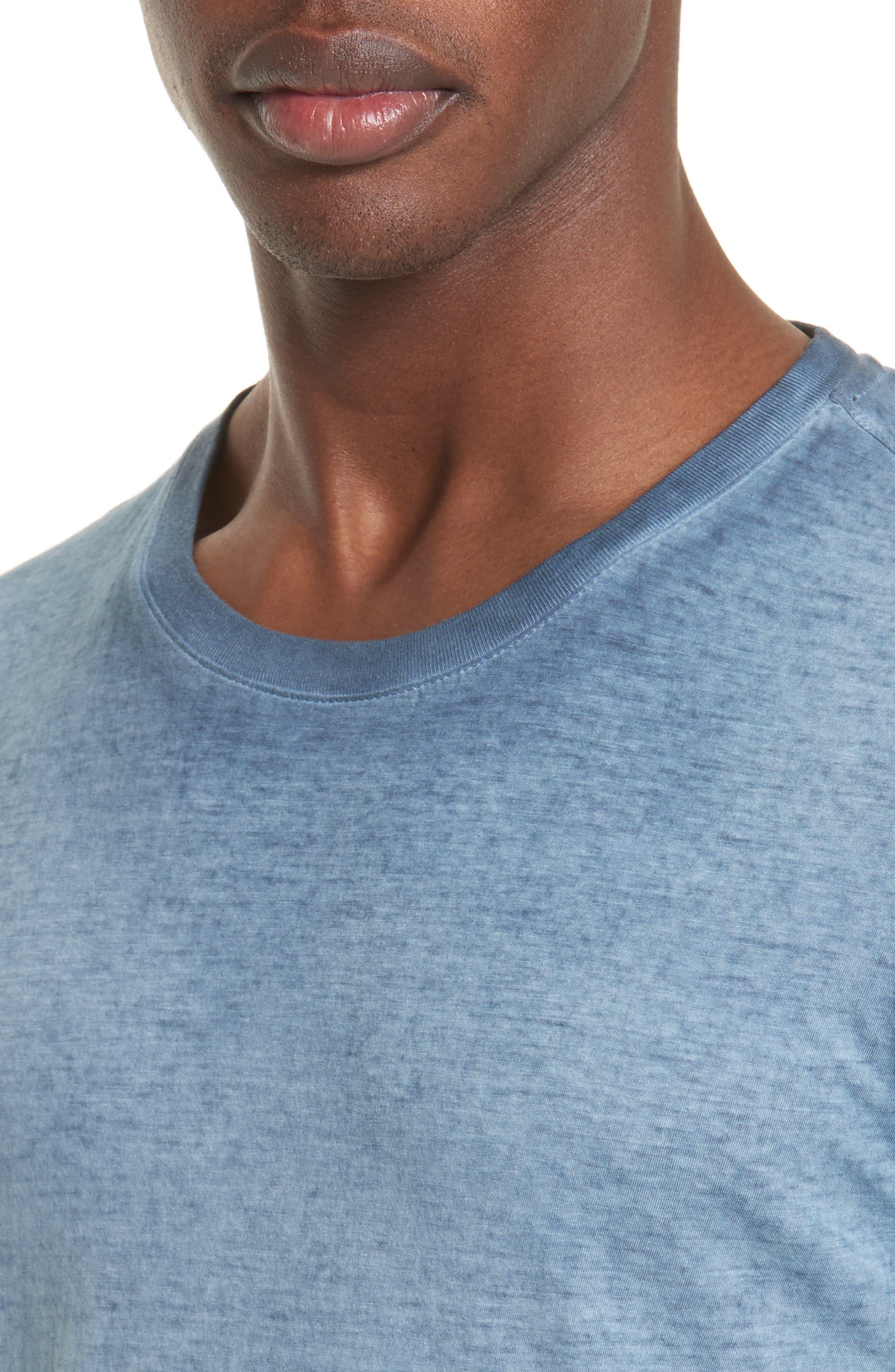 Alternate Image 4  - Belstaff 'Trafford' Cotton Crewneck T-Shirt