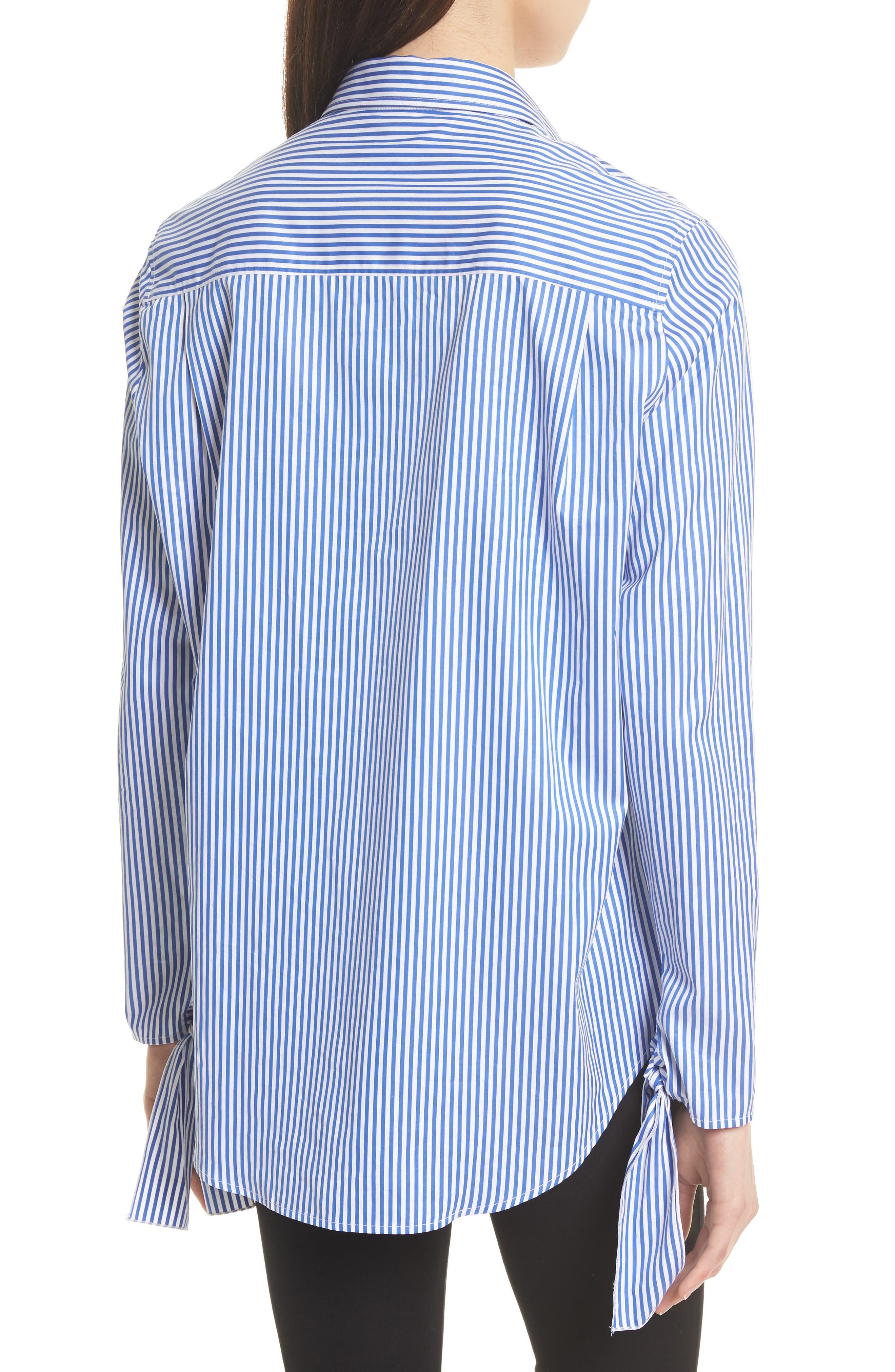 Alternate Image 2  - JOSEPH Thomas Stripe Forever Tie Cuff Shirt