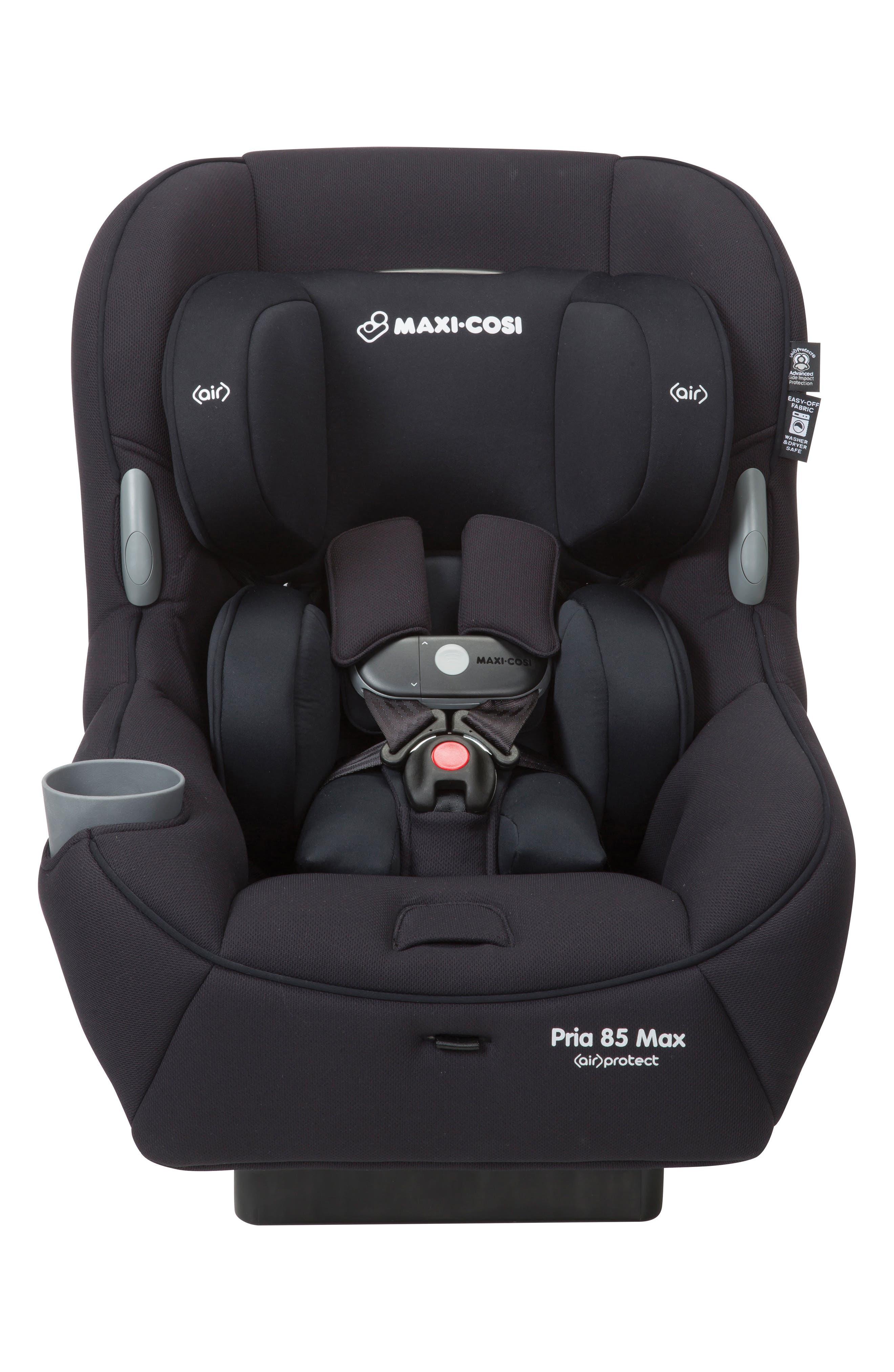 Pria<sup>™</sup> 85 Max Convertible Car Seat,                         Main,                         color, Night Black