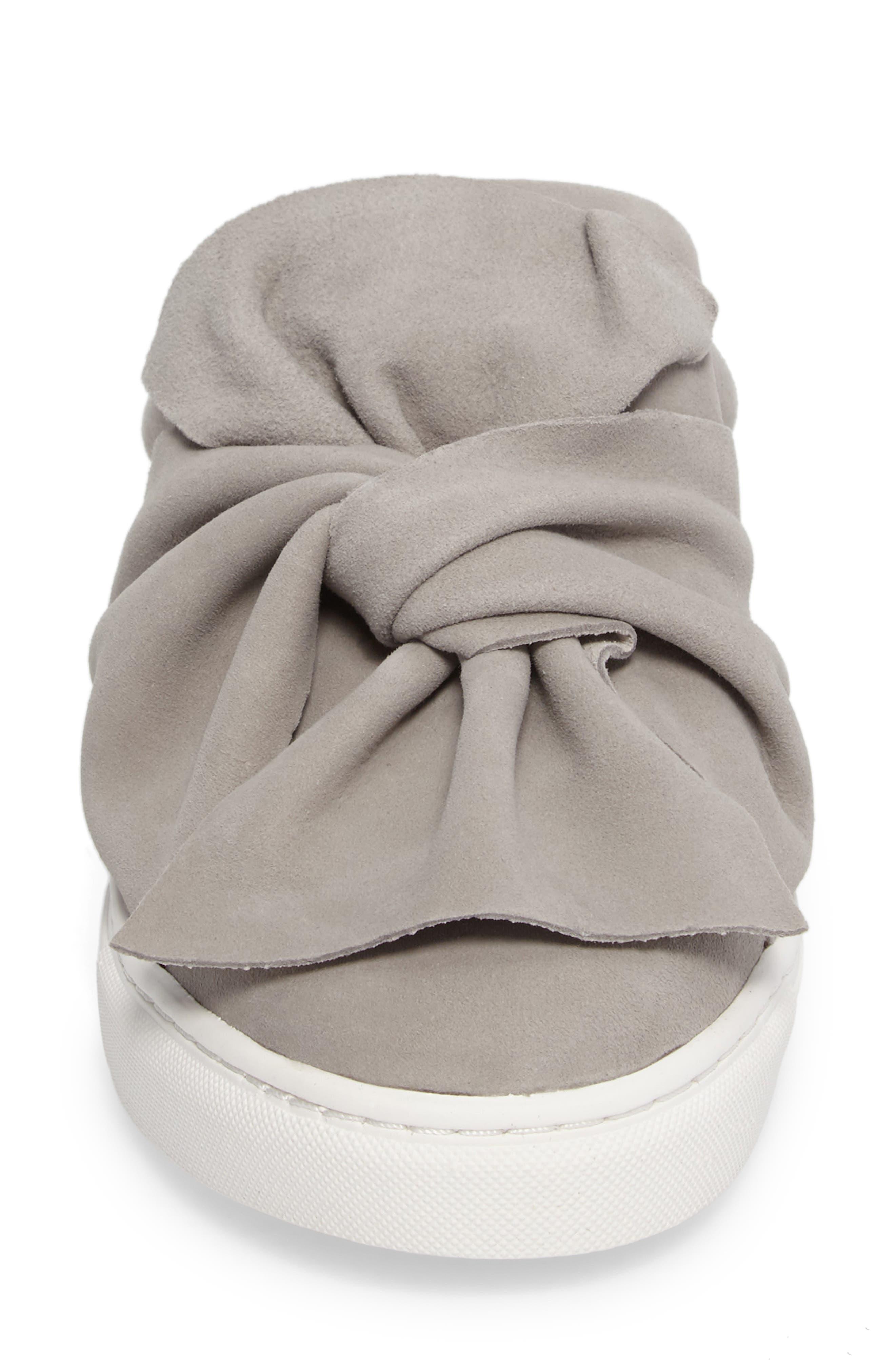Alternate Image 5  - Halogen® Manny Knotted Slip-On Sneaker (Women)