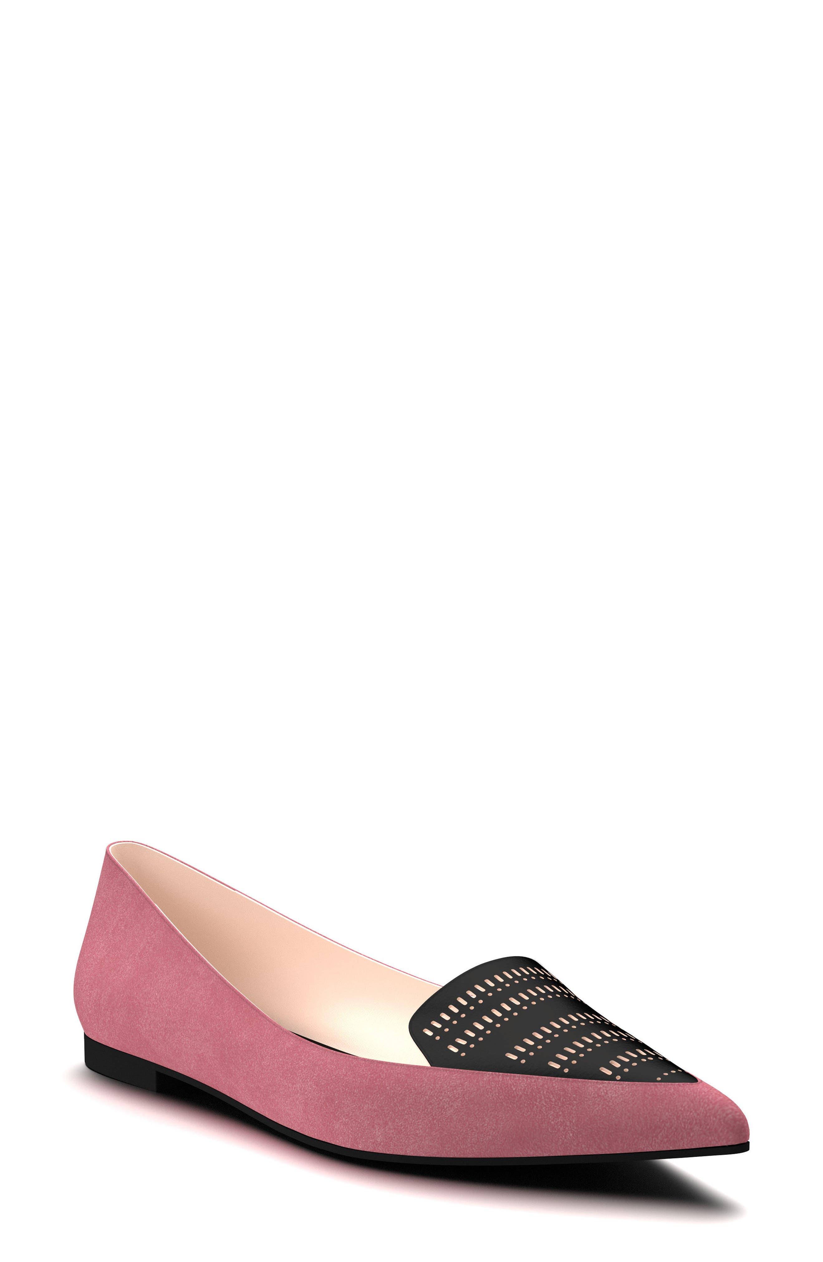 Shoes of Prey Pointy Toe Flat (Women)