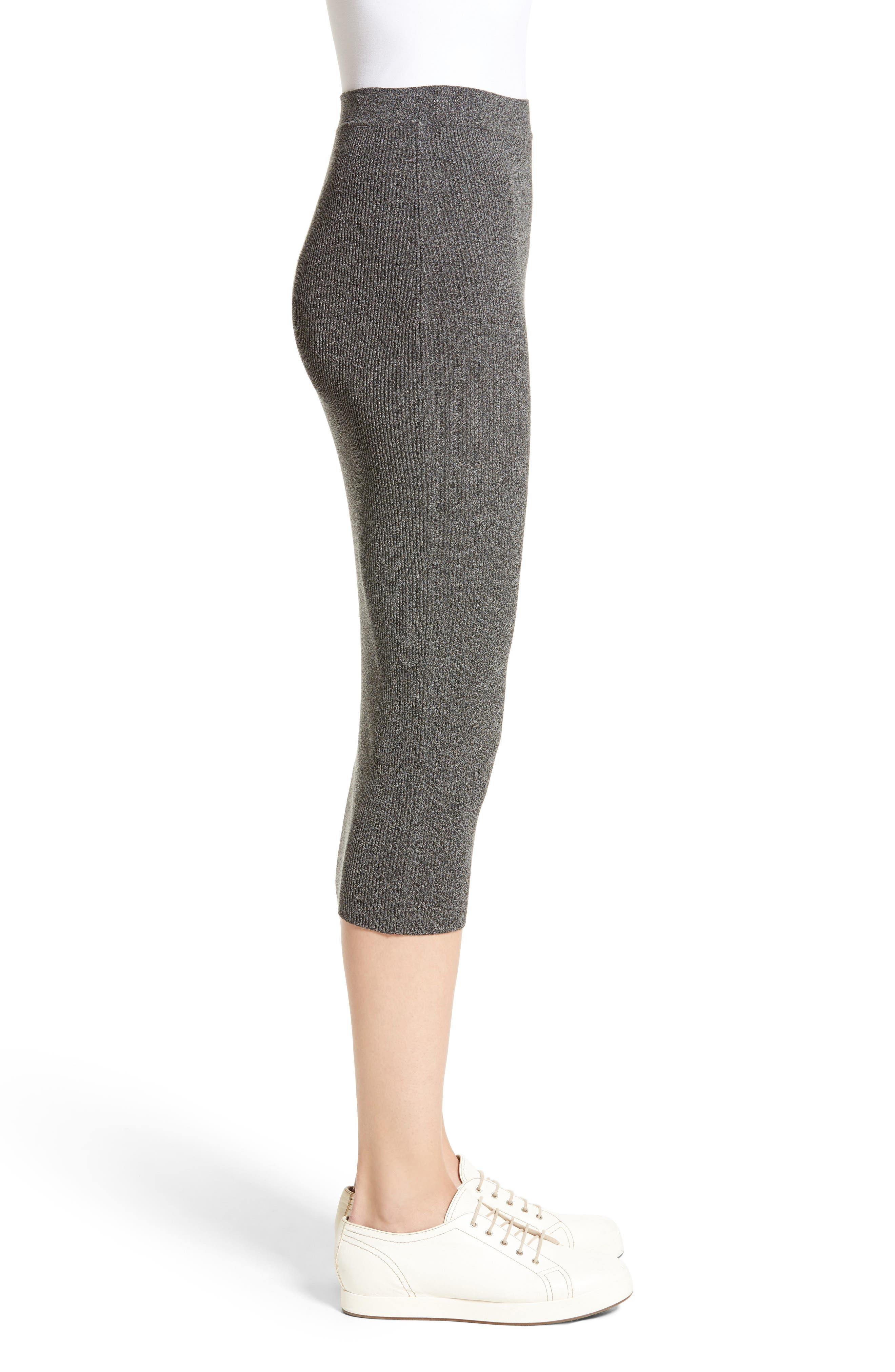 Alternate Image 5  - Armani Jeans Rib Knit Midi Skirt