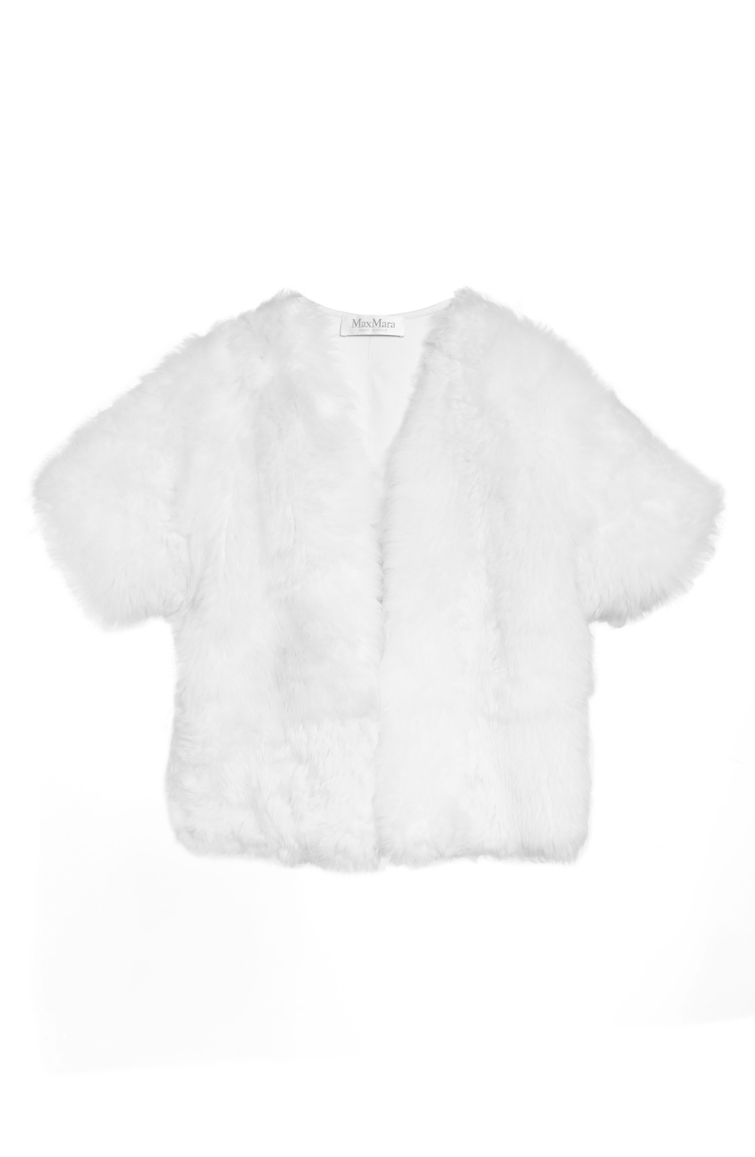 Alternate Image 4  - Max Mara Fiorigi Genuine Lamb Fur Bolero