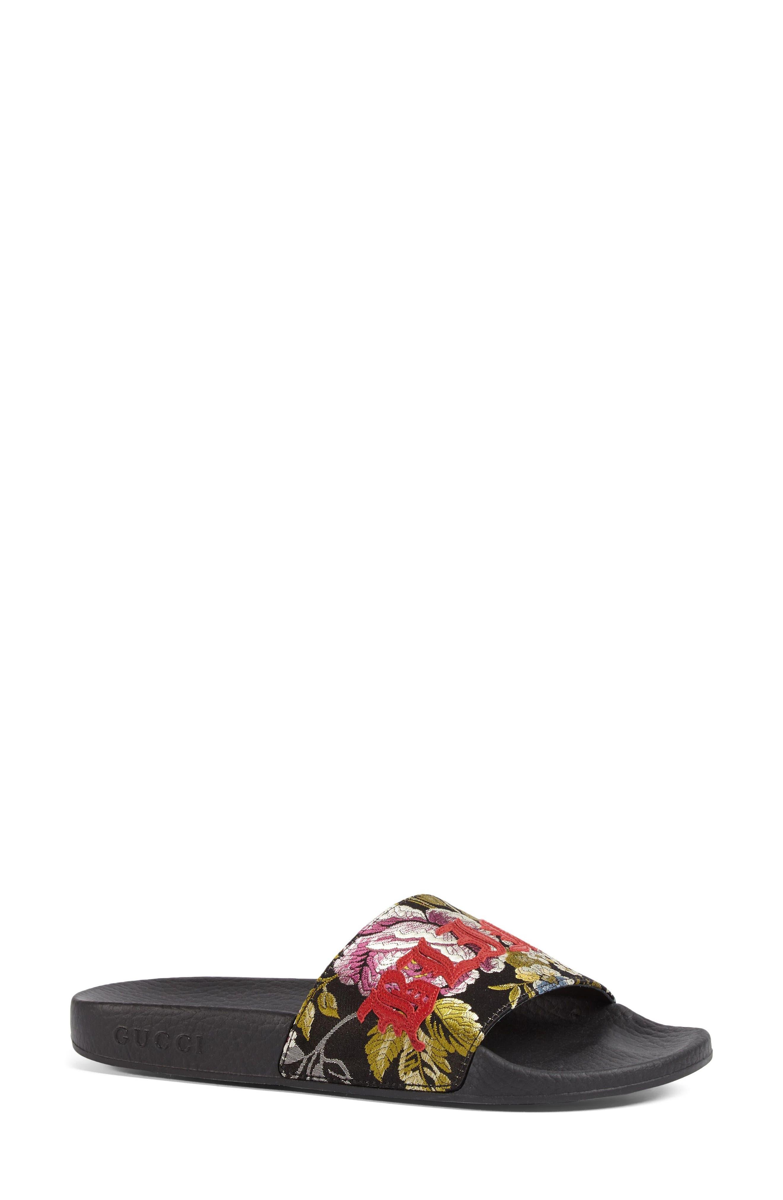 Alternate Image 3  - Gucci Pursuit Blind for Love Slide Sandal (Women)