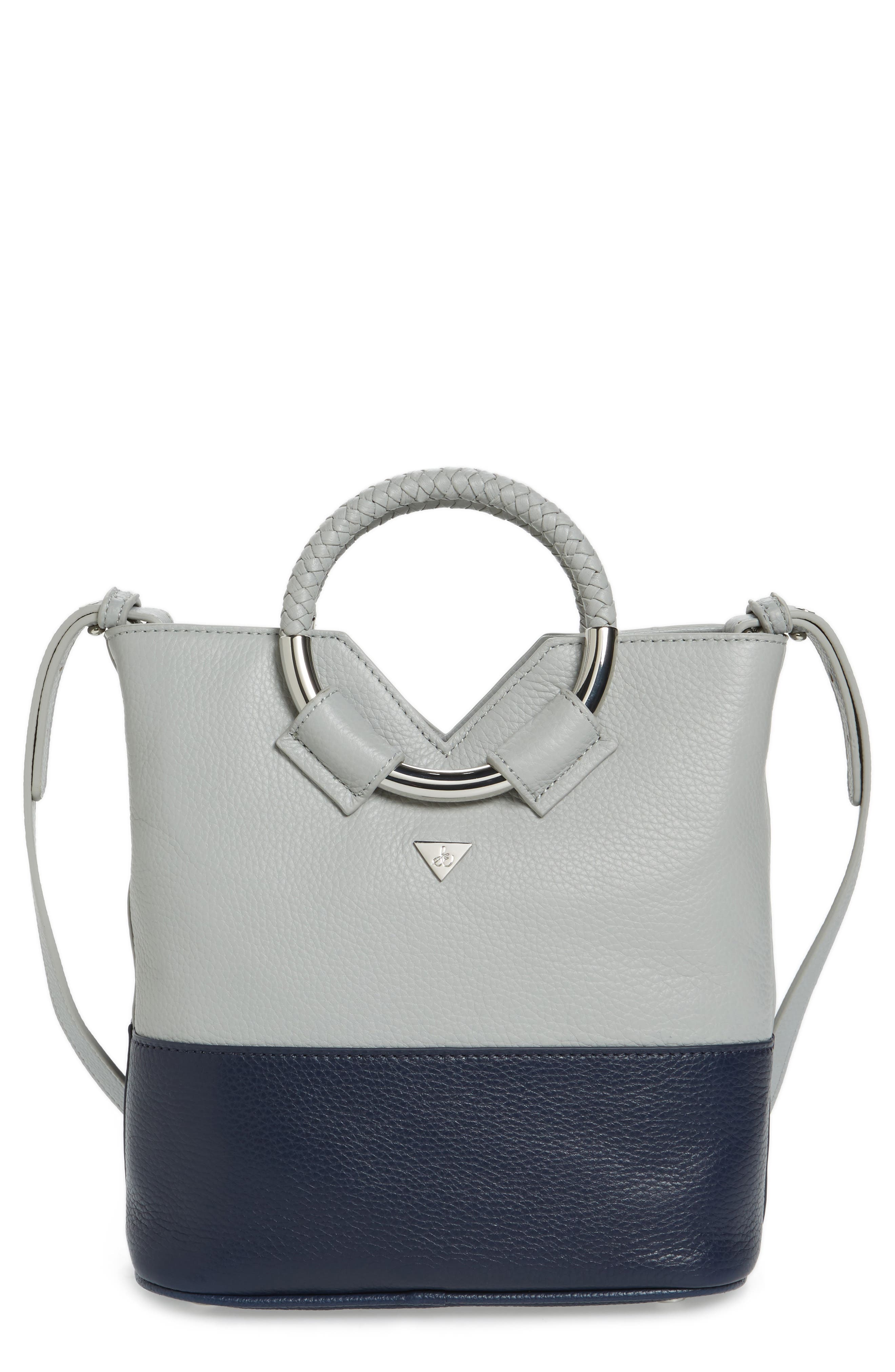 Alternate Image 1 Selected - Sam Edelman Small Elina Leather Crossbody Bag
