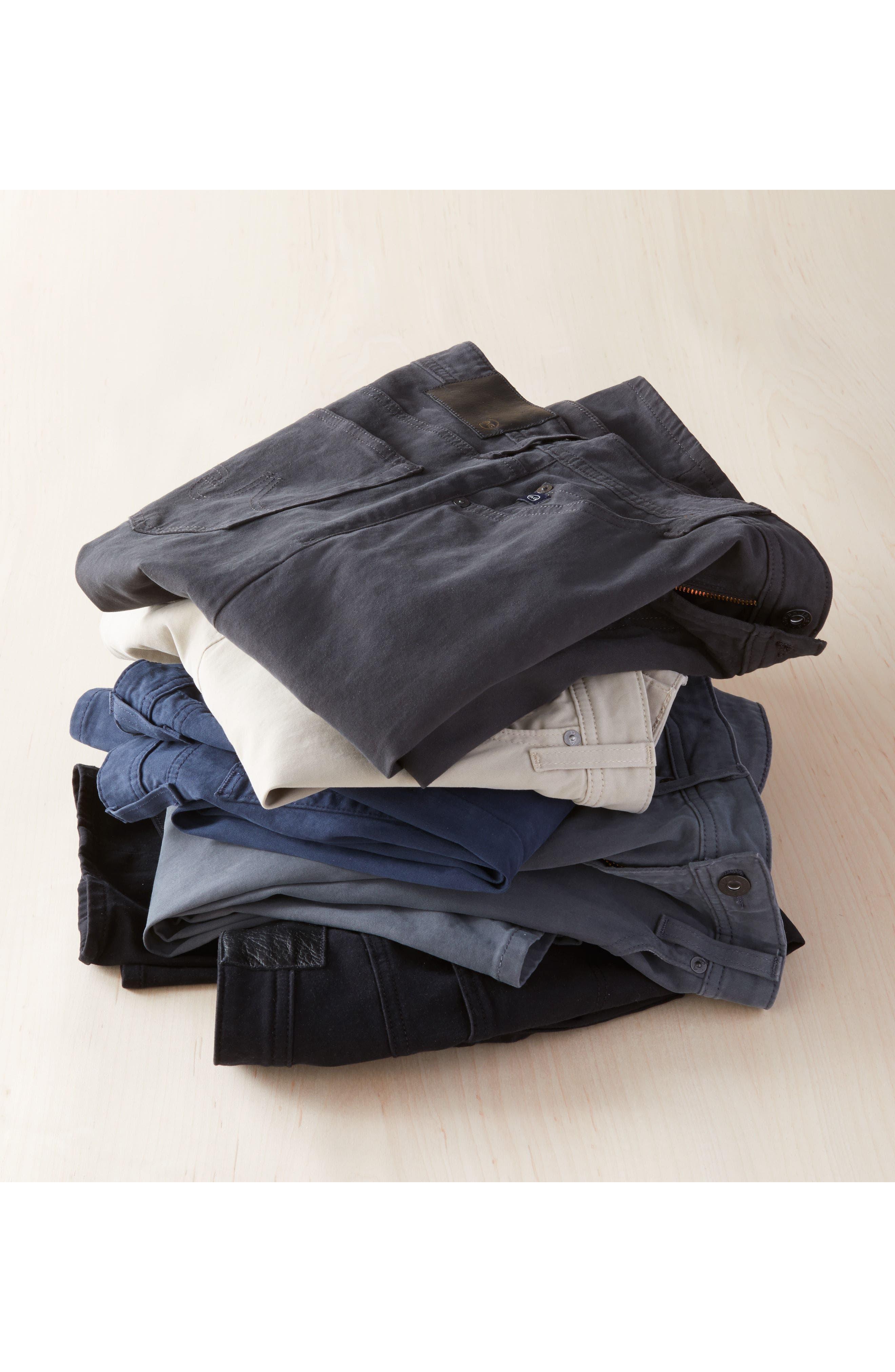 Everett SUD Slim Straight Fit Pants,                             Alternate thumbnail 7, color,