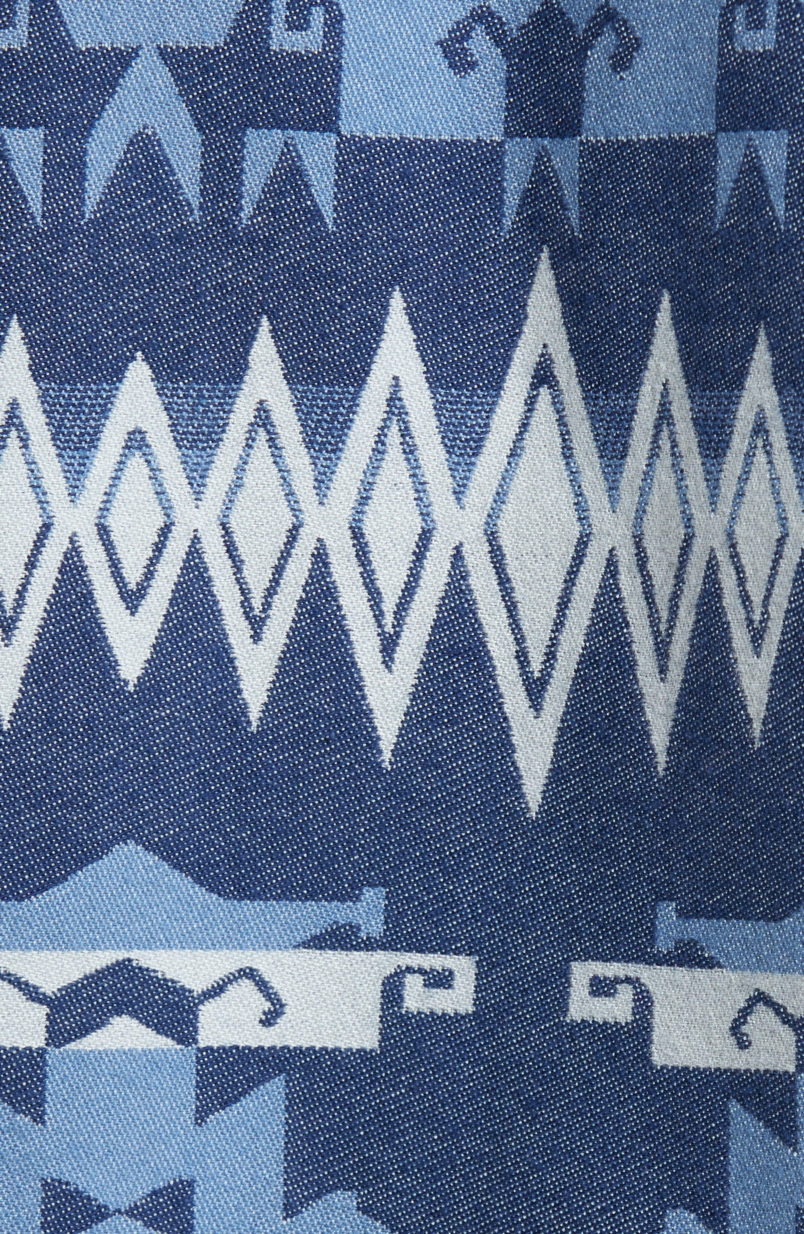 Alternate Image 5  - 1901 Geo Jacquard Shirt