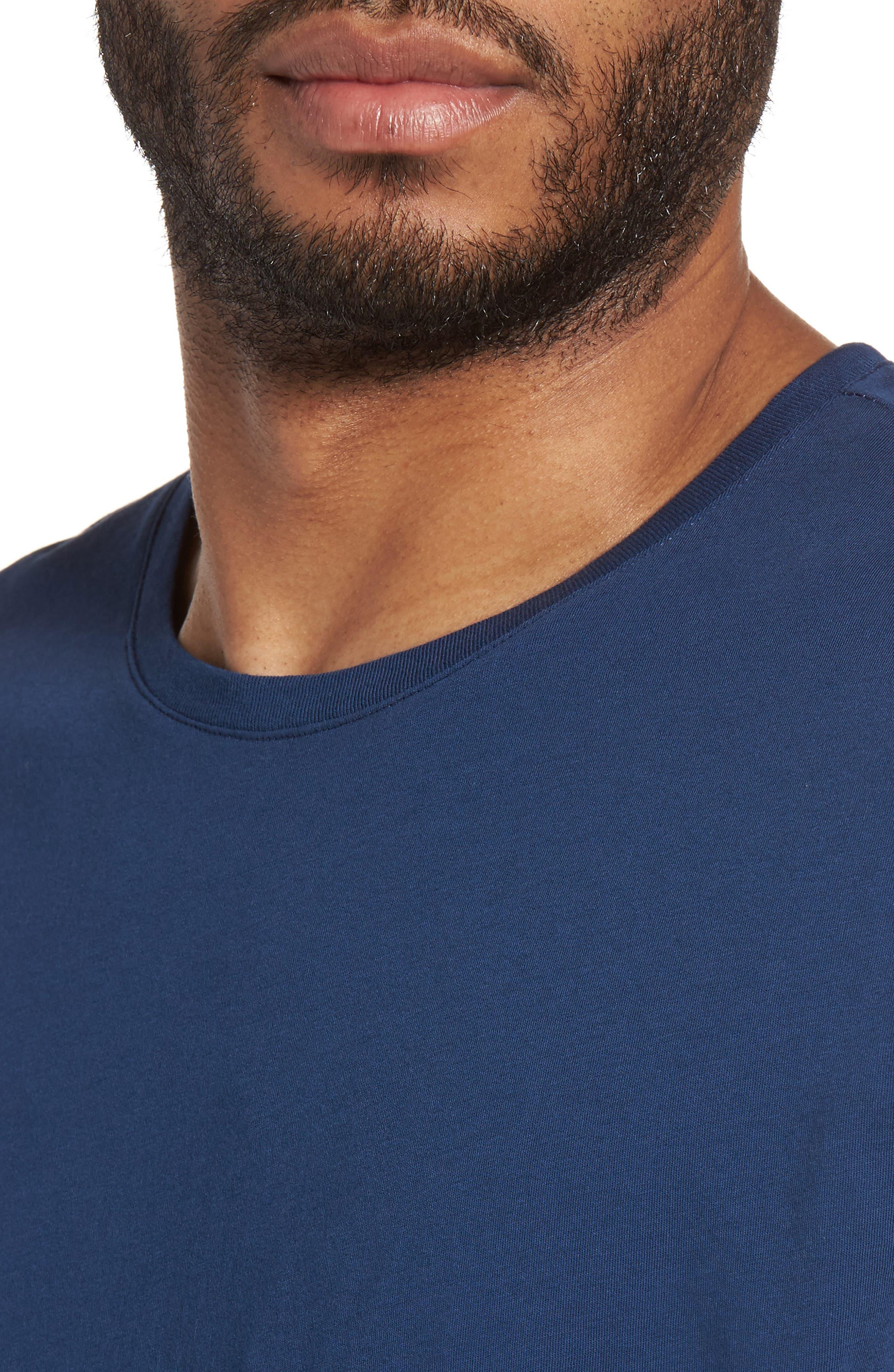 Alternate Image 4  - Slate & Stone Slim Crewneck T-Shirt