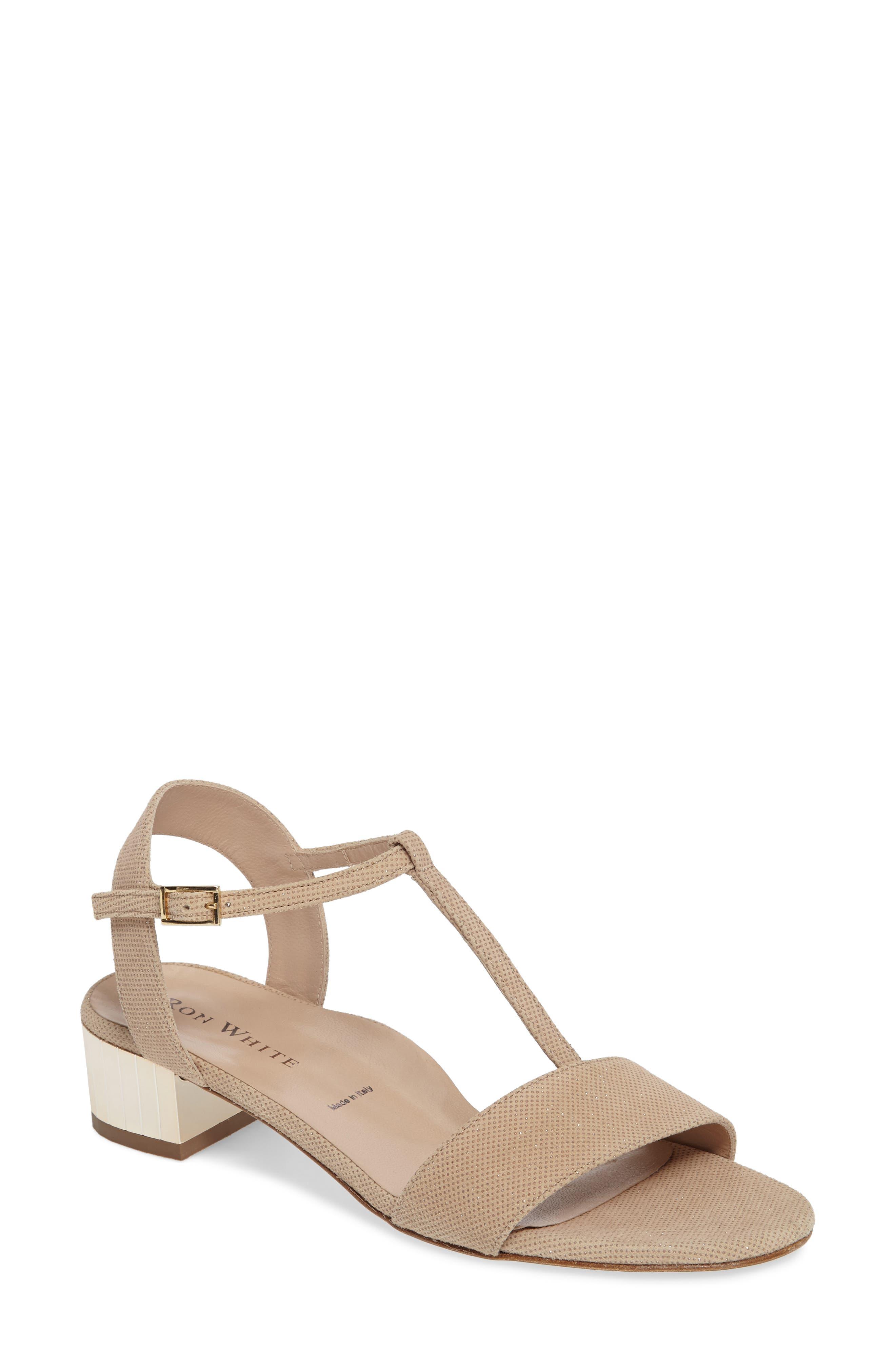 Alternate Image 1 Selected - Ron White Esme T-Strap Sandal (Women)