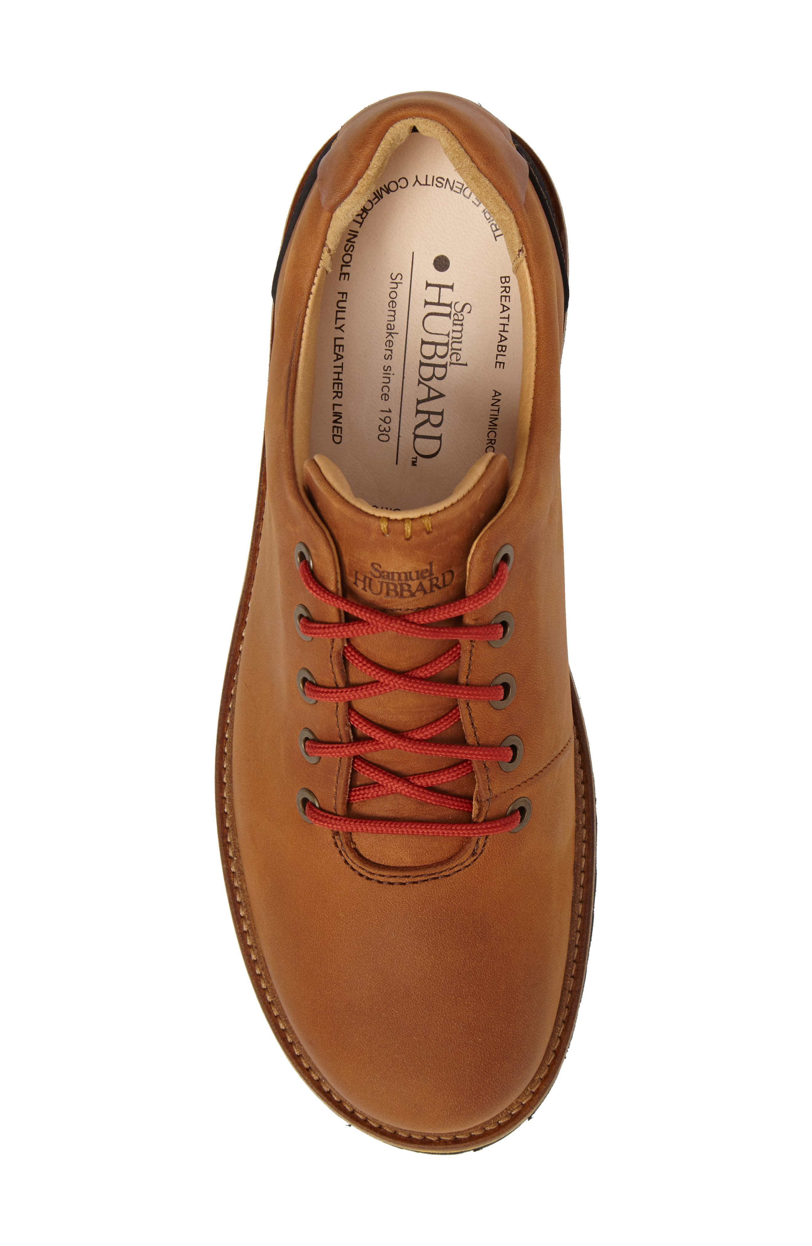 Fresh Plain Toe Oxford,                             Alternate thumbnail 5, color,                             Tan Waxhide