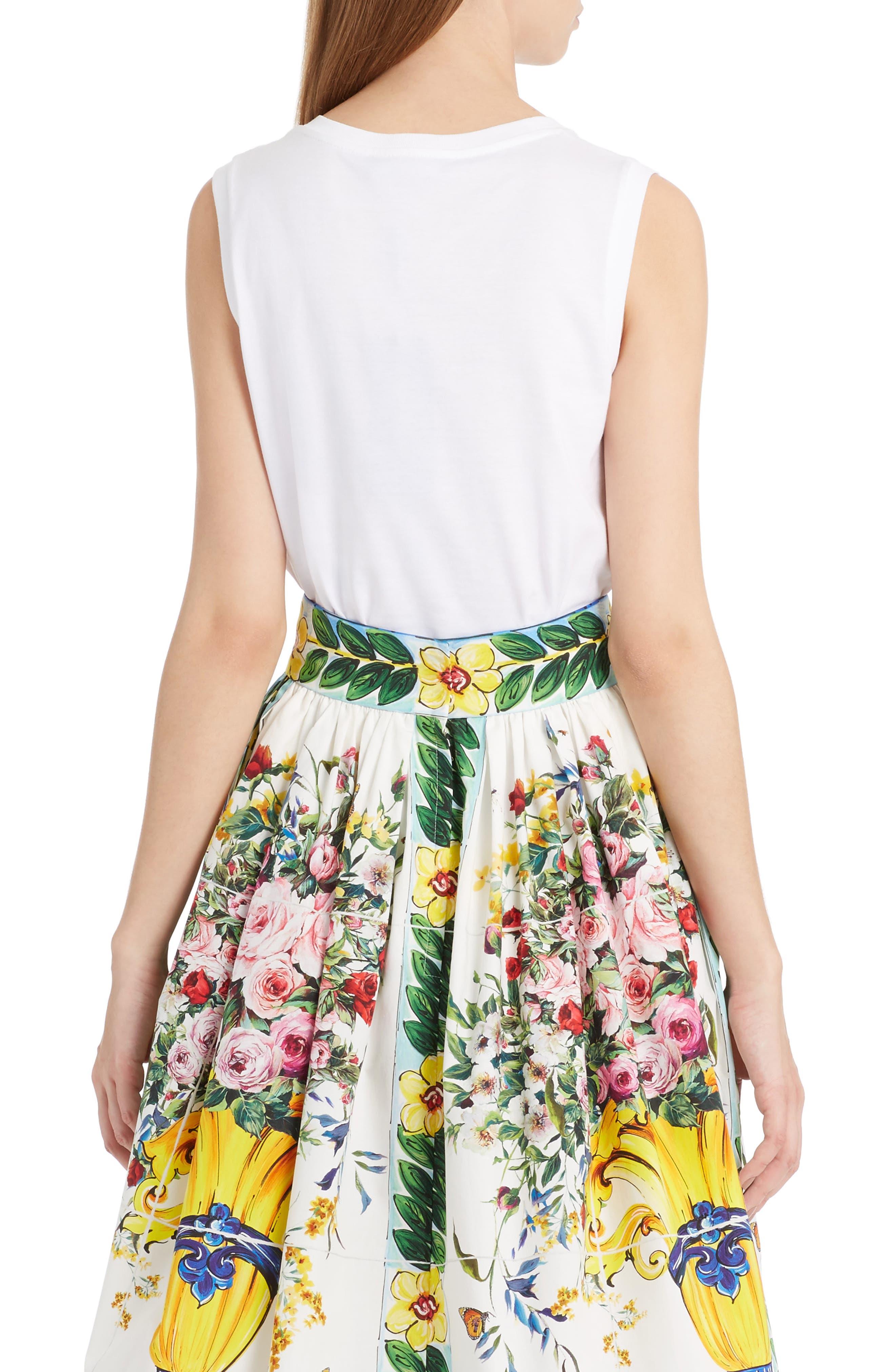 Alternate Image 2  - Dolce&Gabbana Embellished Cotton Tank