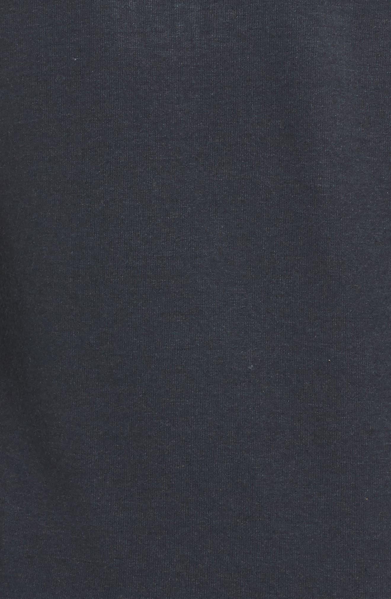 Zip Hoodie,                             Alternate thumbnail 5, color,                             Charcoal