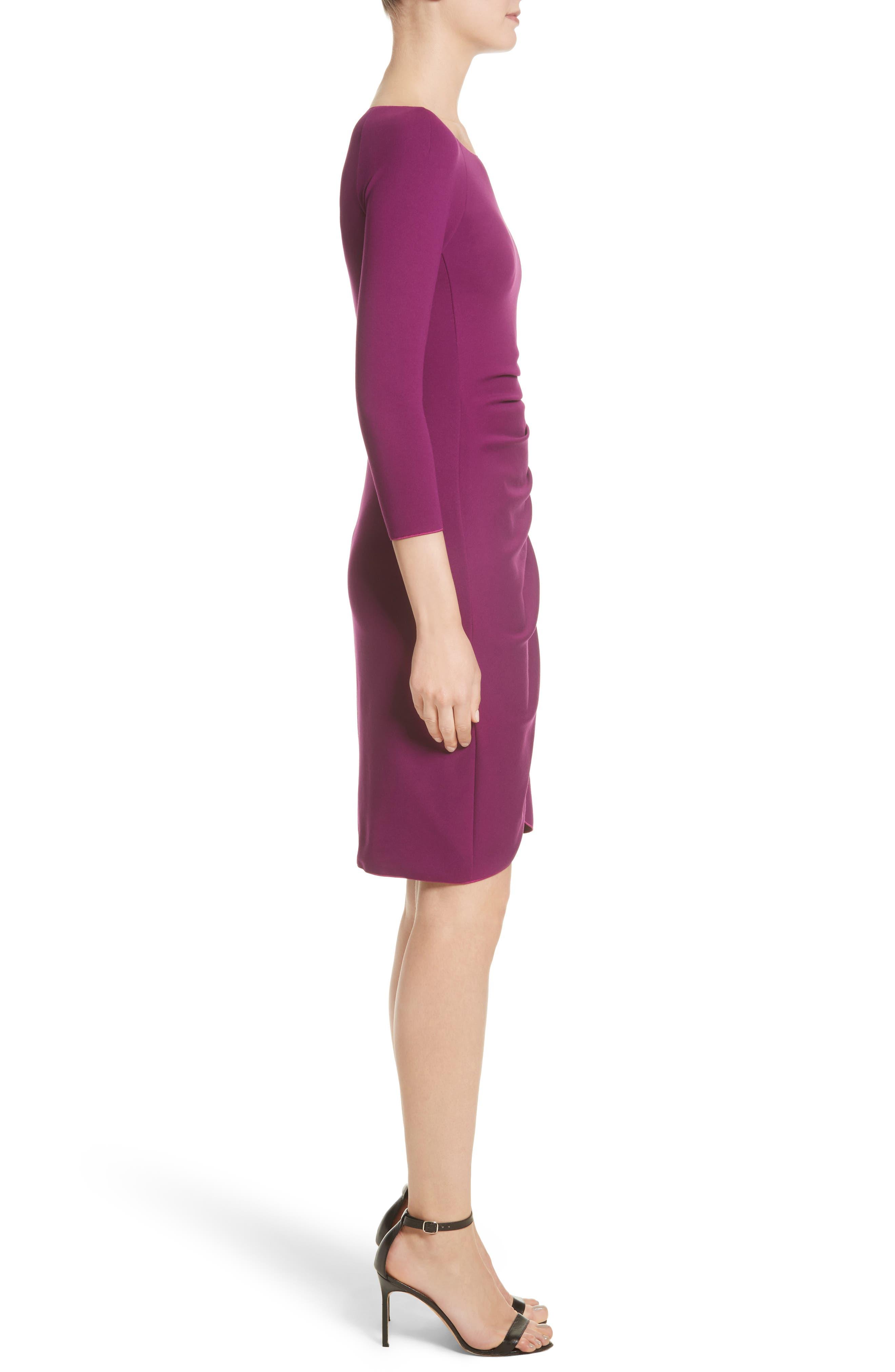 Alternate Image 5  - Armani Collezioni Milano Jersey Petal Hem Dress (Nordstrom Exclusive)