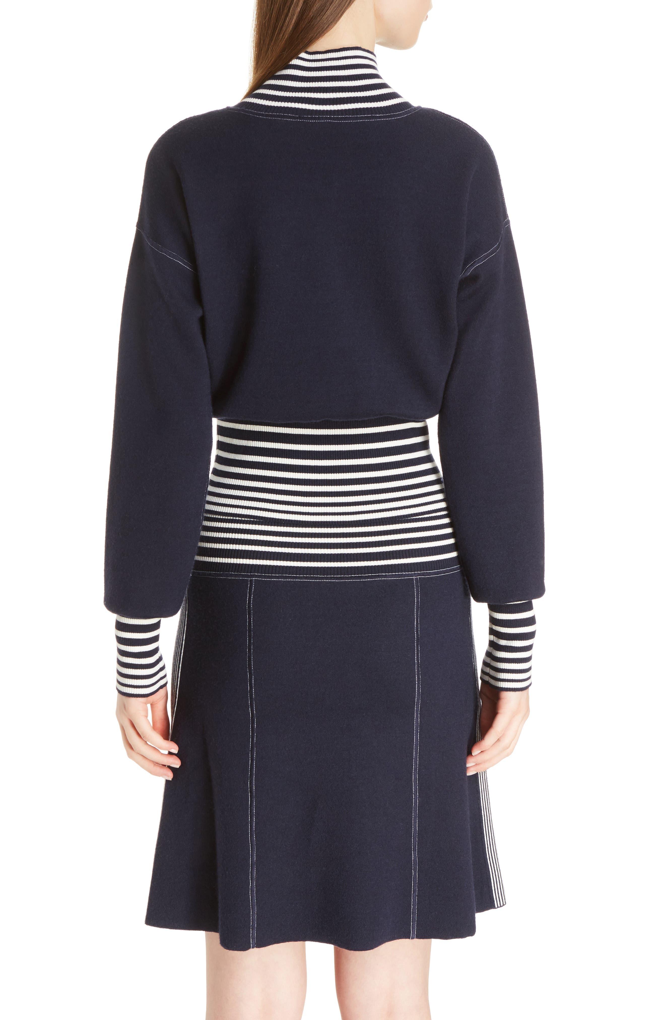 Alternate Image 2  - Loewe Stripe Knit Turtleneck