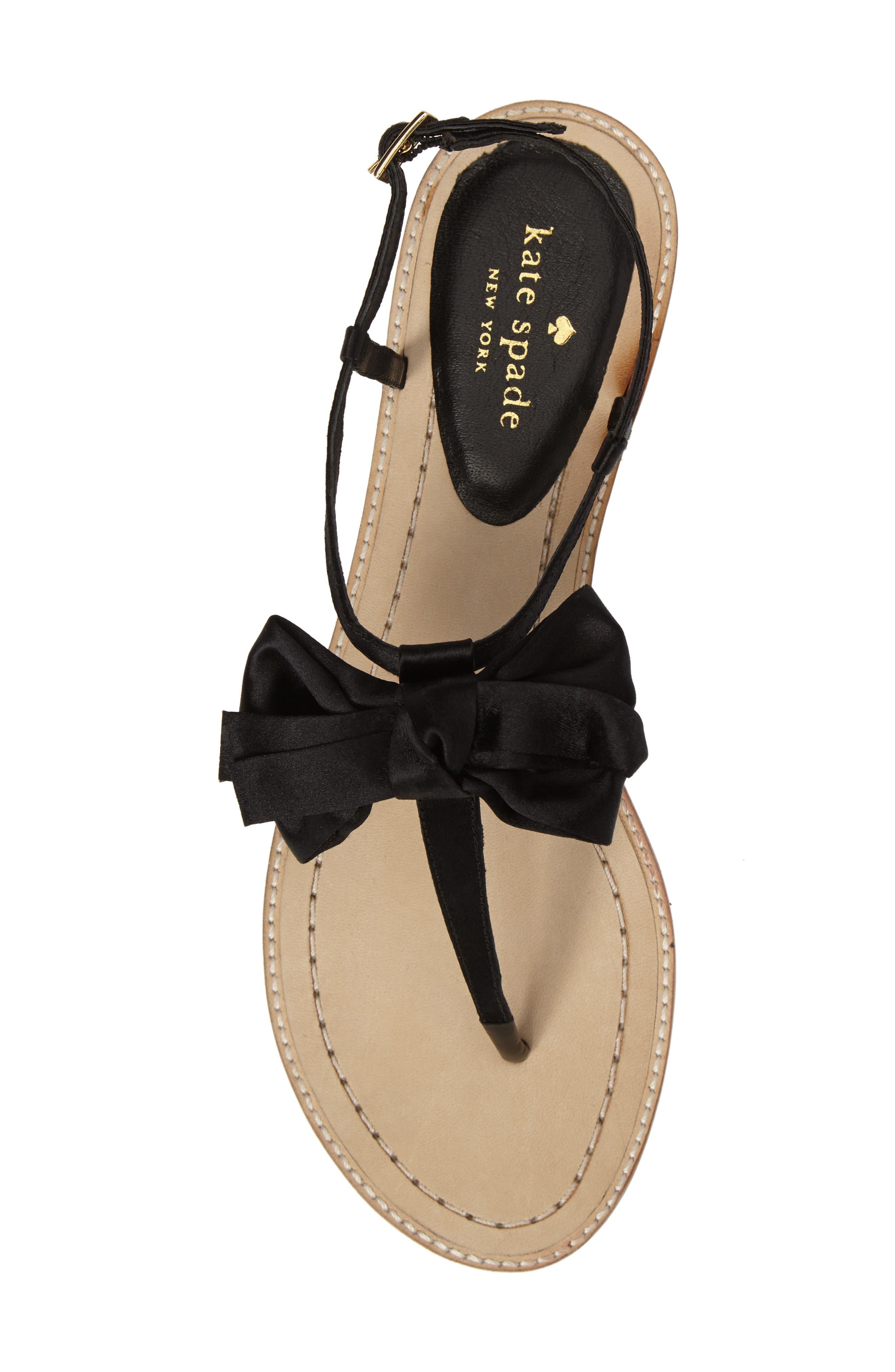 Alternate Image 5  - kate spade new york serrano bow sandal (Women)