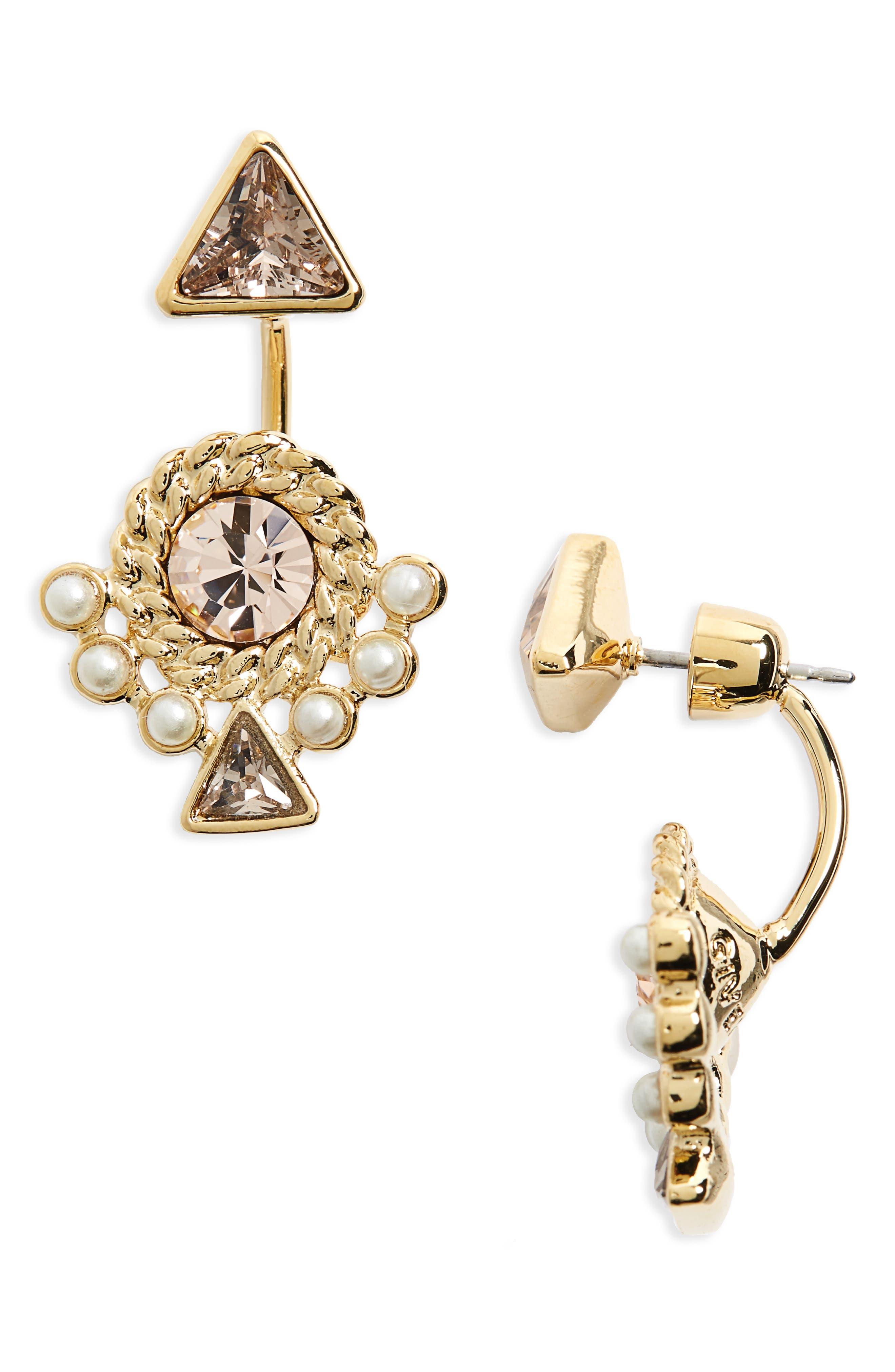 Main Image - Givenchy Chelsea Drop Back Earrings