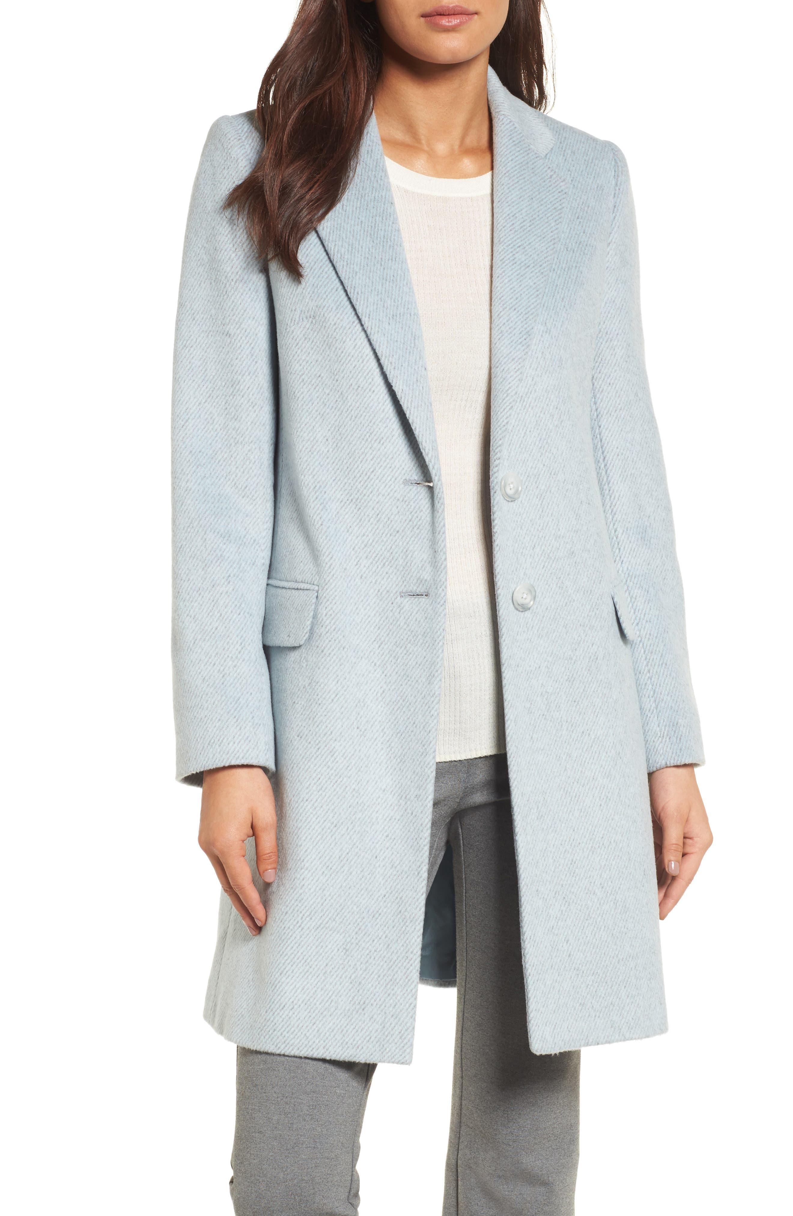 Ducato College Coat,                         Main,                         color, Pale Blue