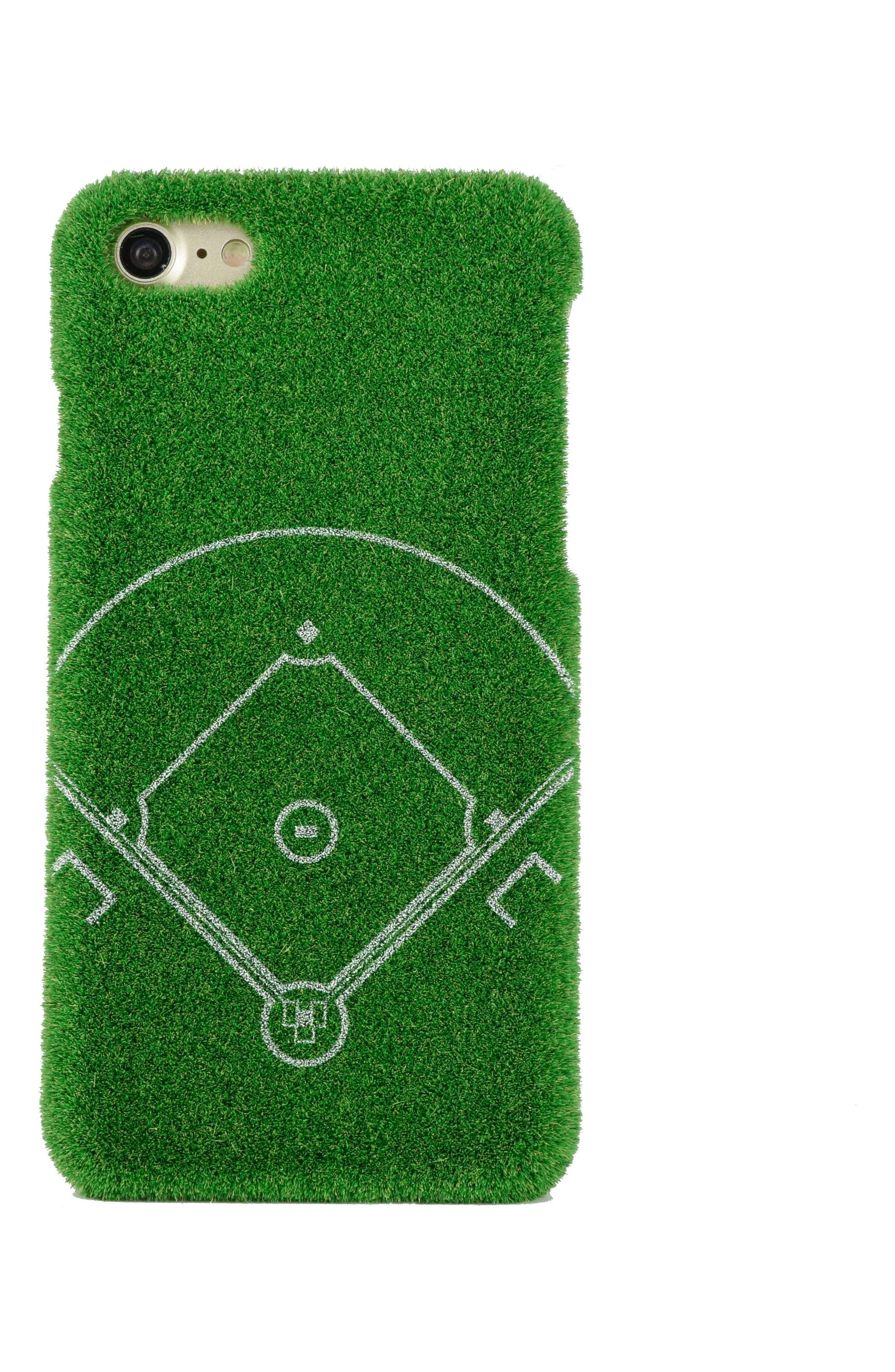 Dream Field Portable Park iPhone 7/8 & 7/8 Plus Case,                             Main thumbnail 1, color,                             Green
