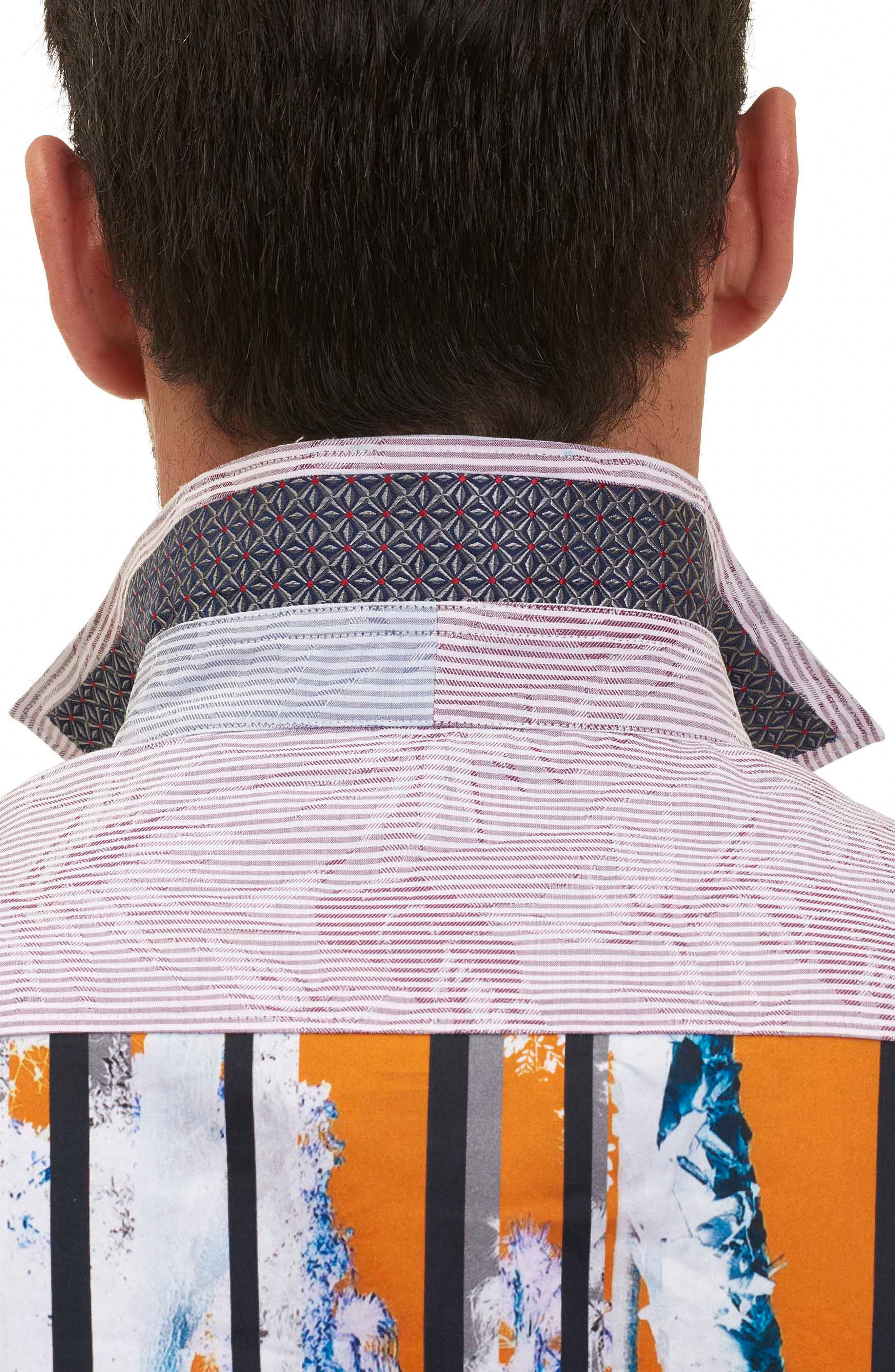 Alternate Image 5  - Robert Graham Bundy Boulevard Classic Fit Print Sport Shirt (Limited Edition)
