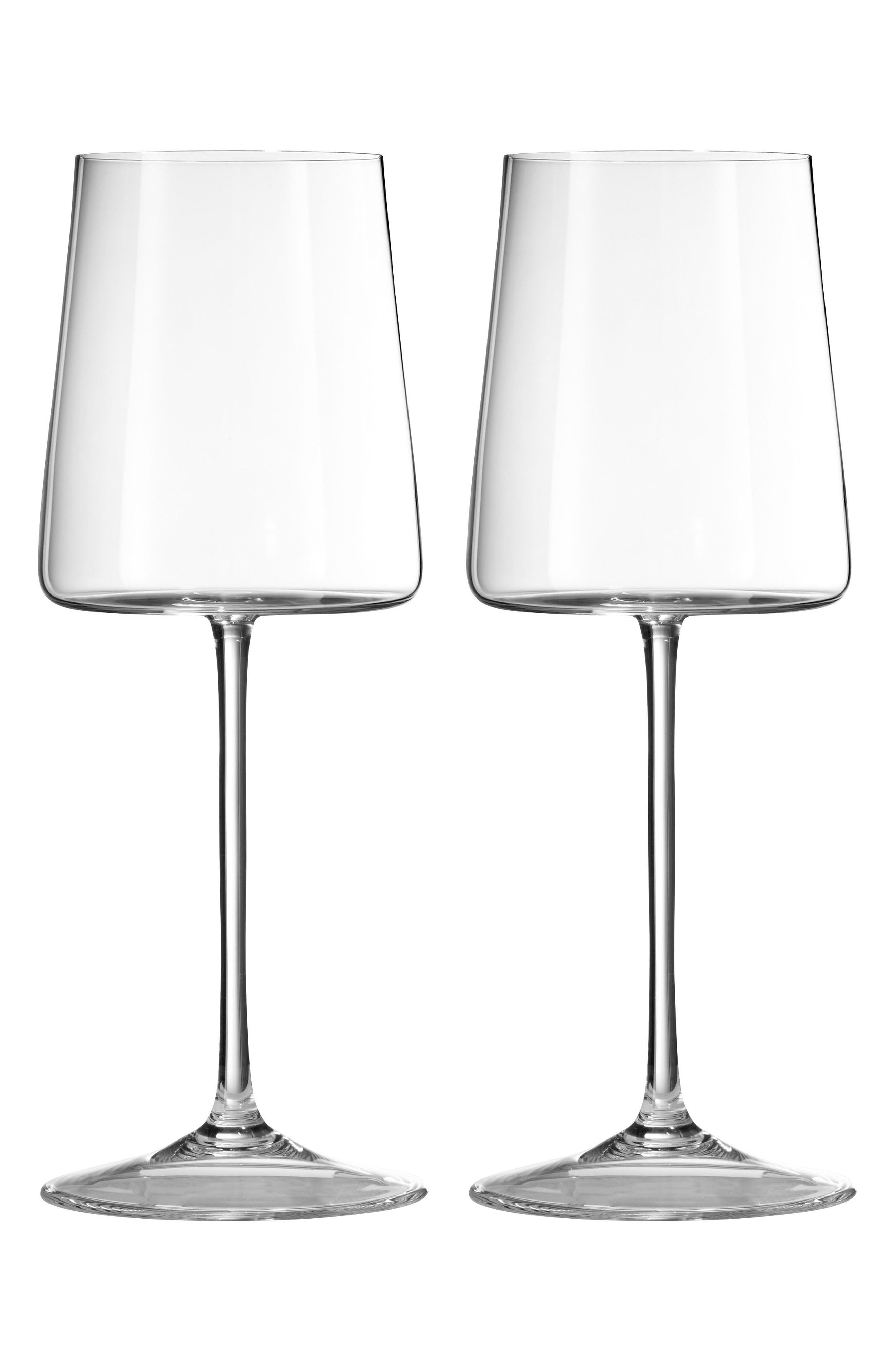 Vera Wang x Wedgwood Vera Metropolitan Set of 2 Wine Glasses