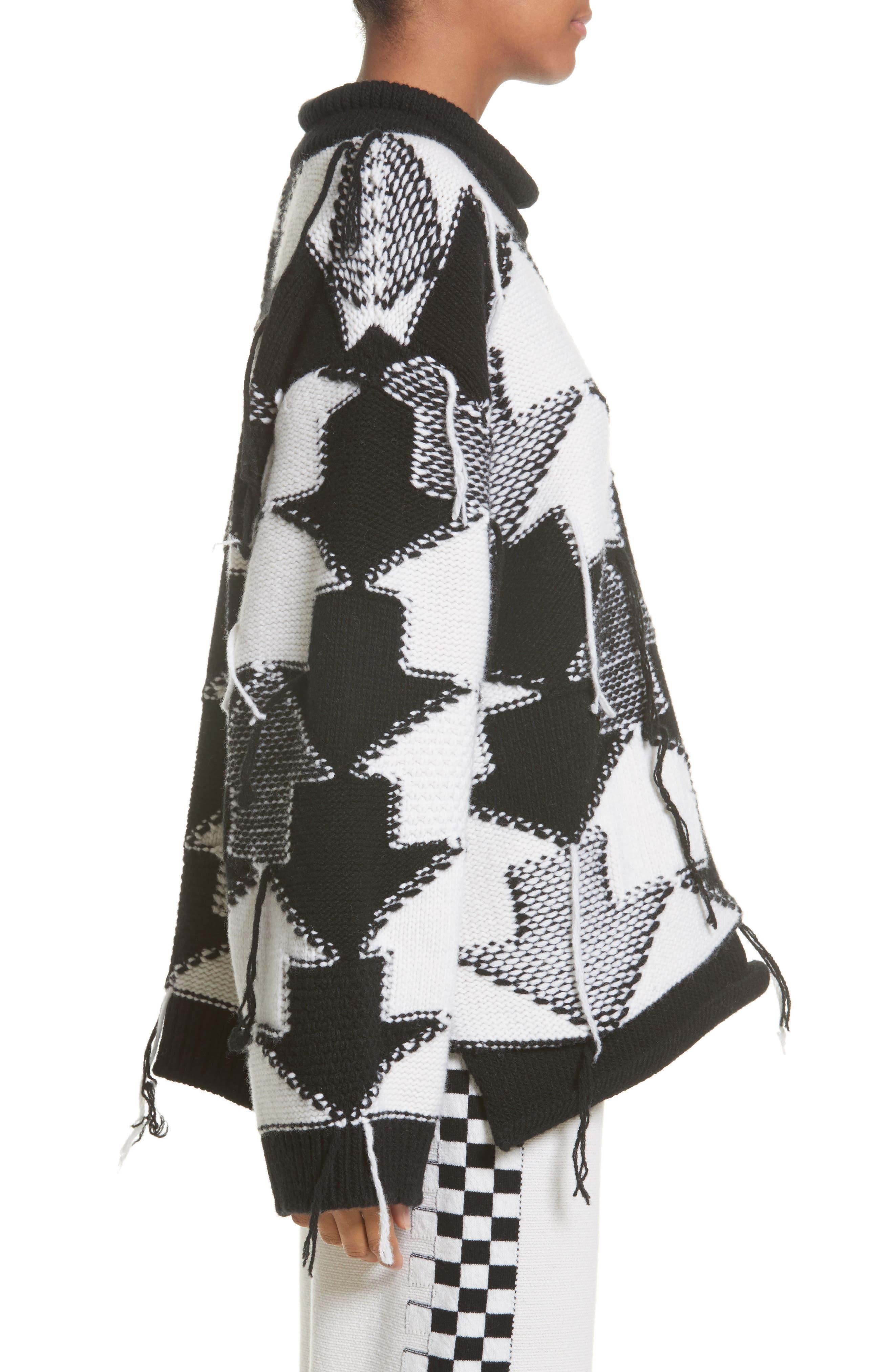 Alternate Image 5  - Stella McCartney Arrow Intarsia Wool Sweater