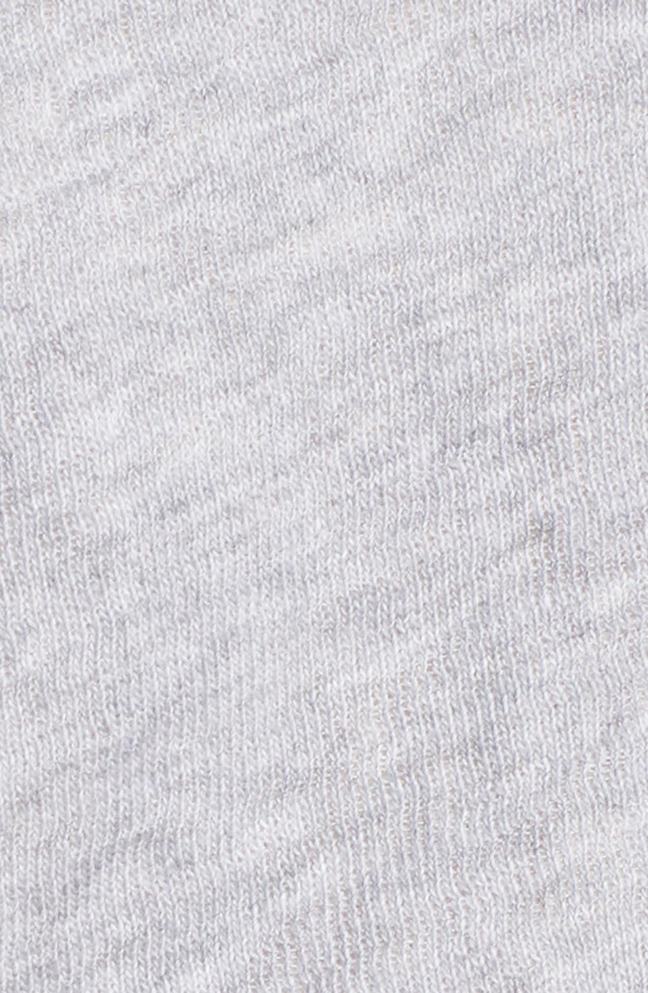 Organic Cotton Knit Hooded Jacket,                             Alternate thumbnail 5, color,                             Dark Pearl