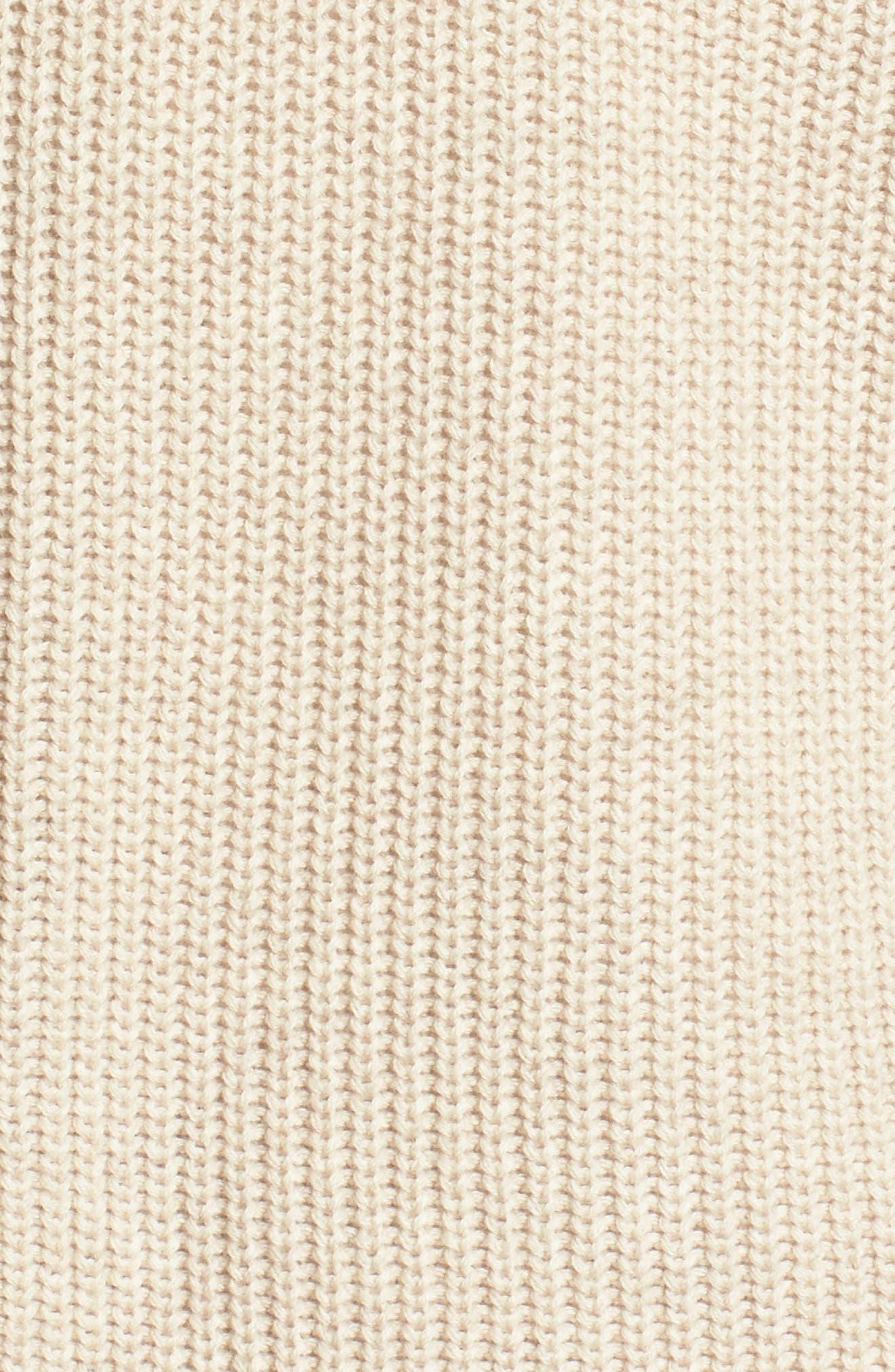 Alternate Image 5  - BP. Distressed Cotton Cardigan