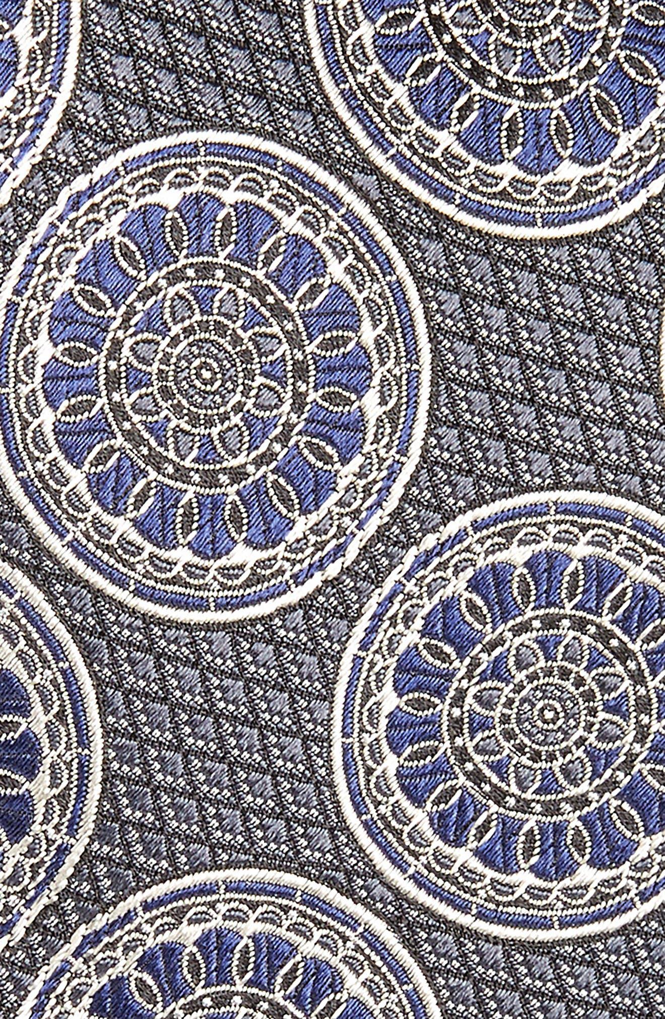 Alternate Image 2  - Ermenegildo Zegna Medallion Silk Tie