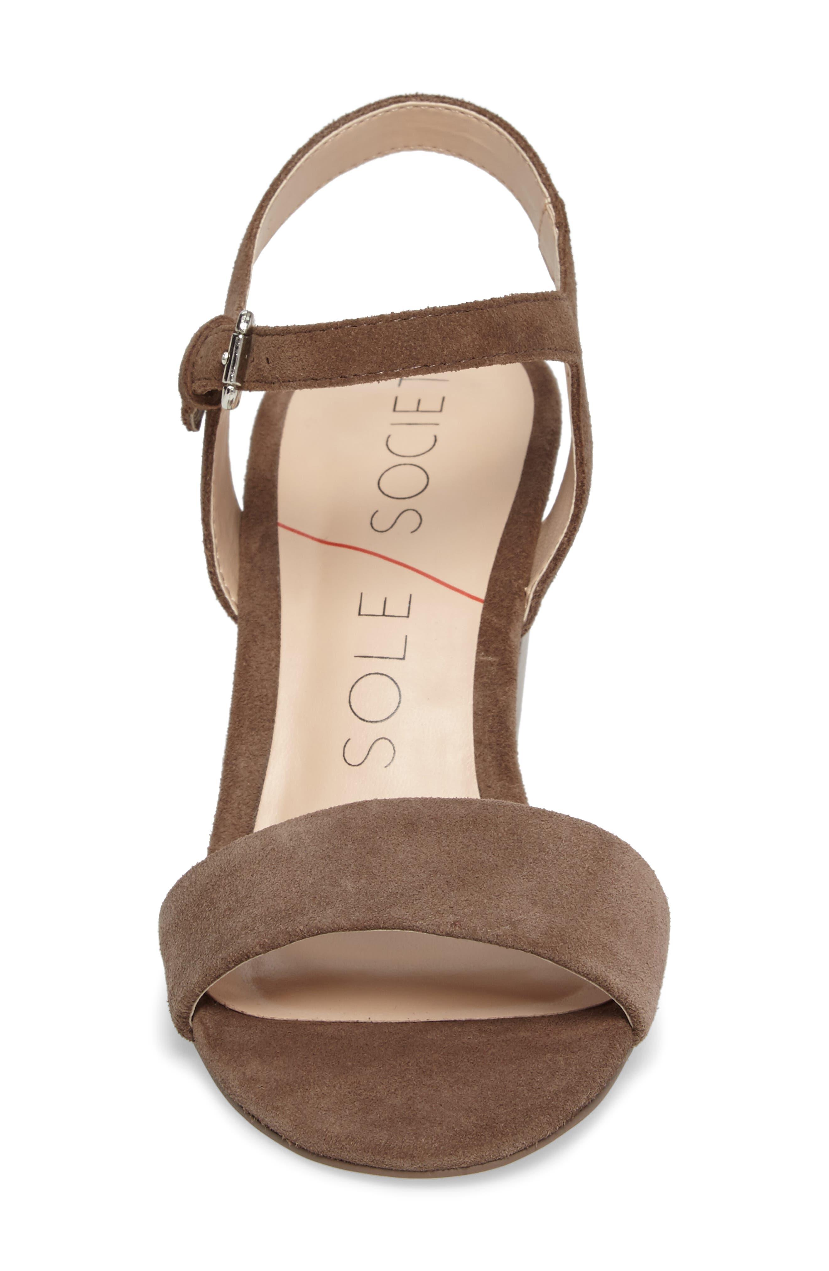Alternate Image 4  - Sole Society 'Linny' Ankle Strap Sandal (Women)