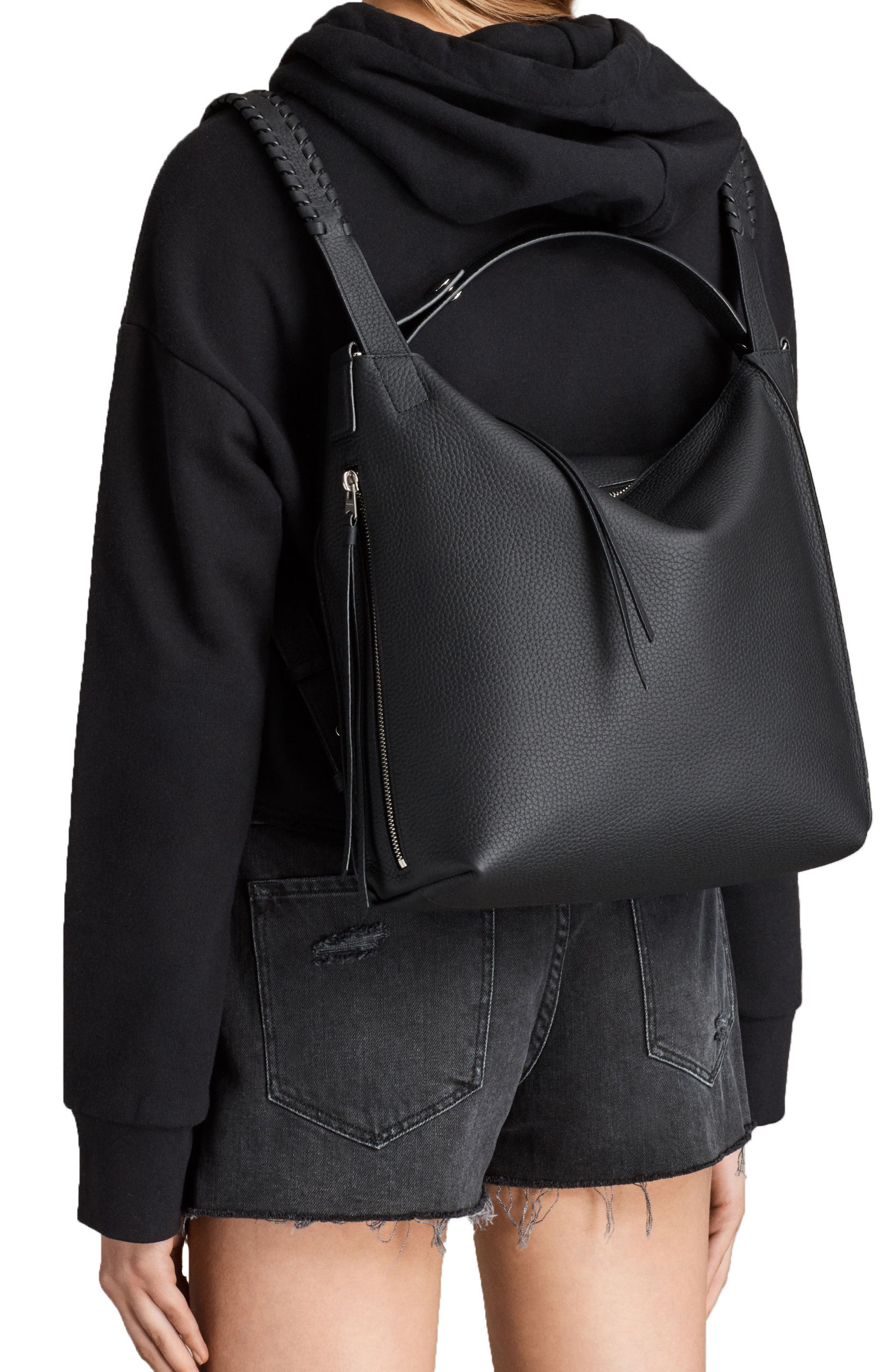 Alternate Image 2  - ALLSAINTS Small Kita Convertible Leather Backpack