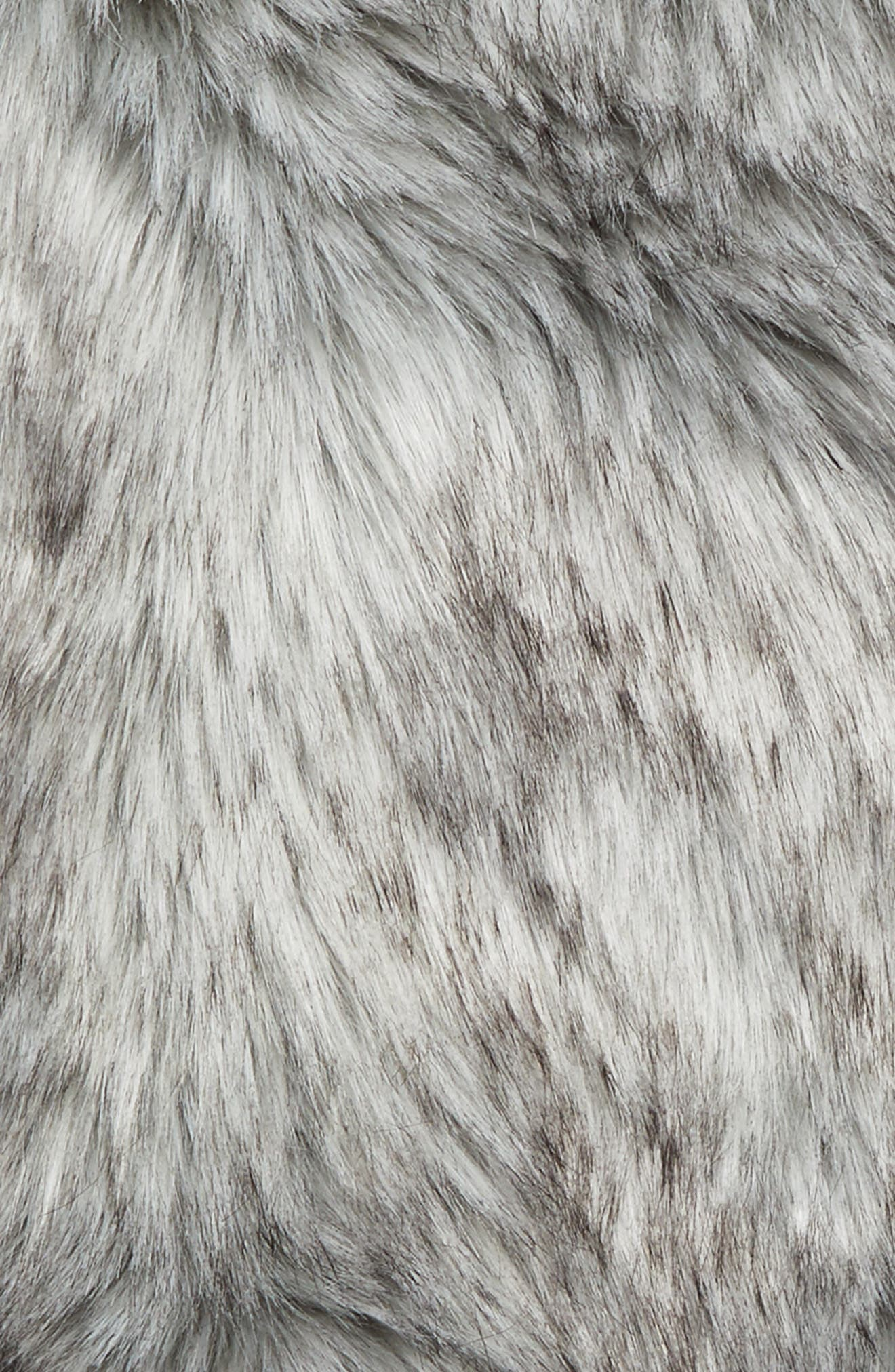 Alternate Image 2  - Nordstrom at Home Fox Faux Fur Throw Blanket