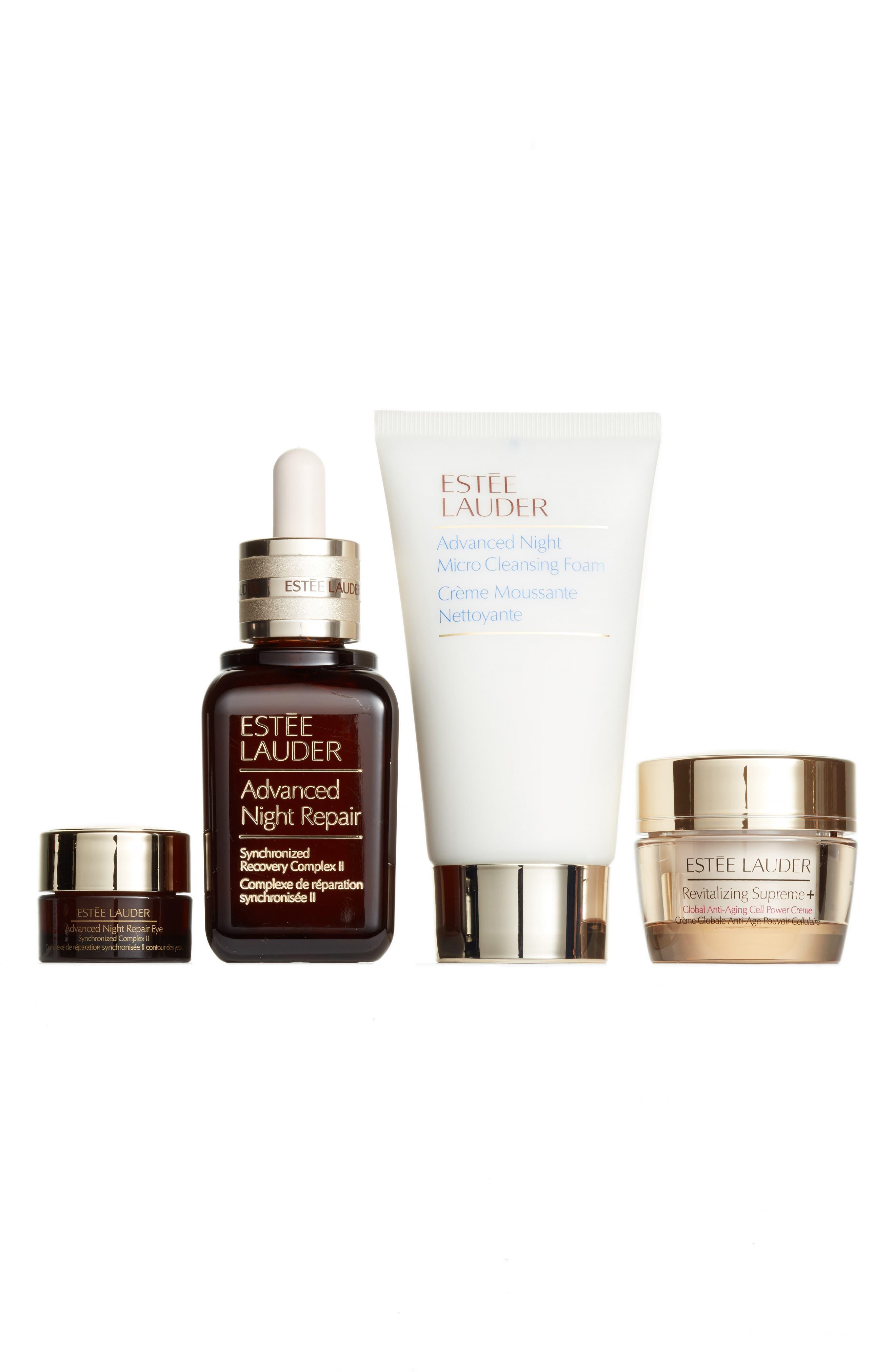 Alternate Image 1 Selected - Estée Lauder Repair + Renew for Firmer, Radiant Skin Collection ($150 Value)