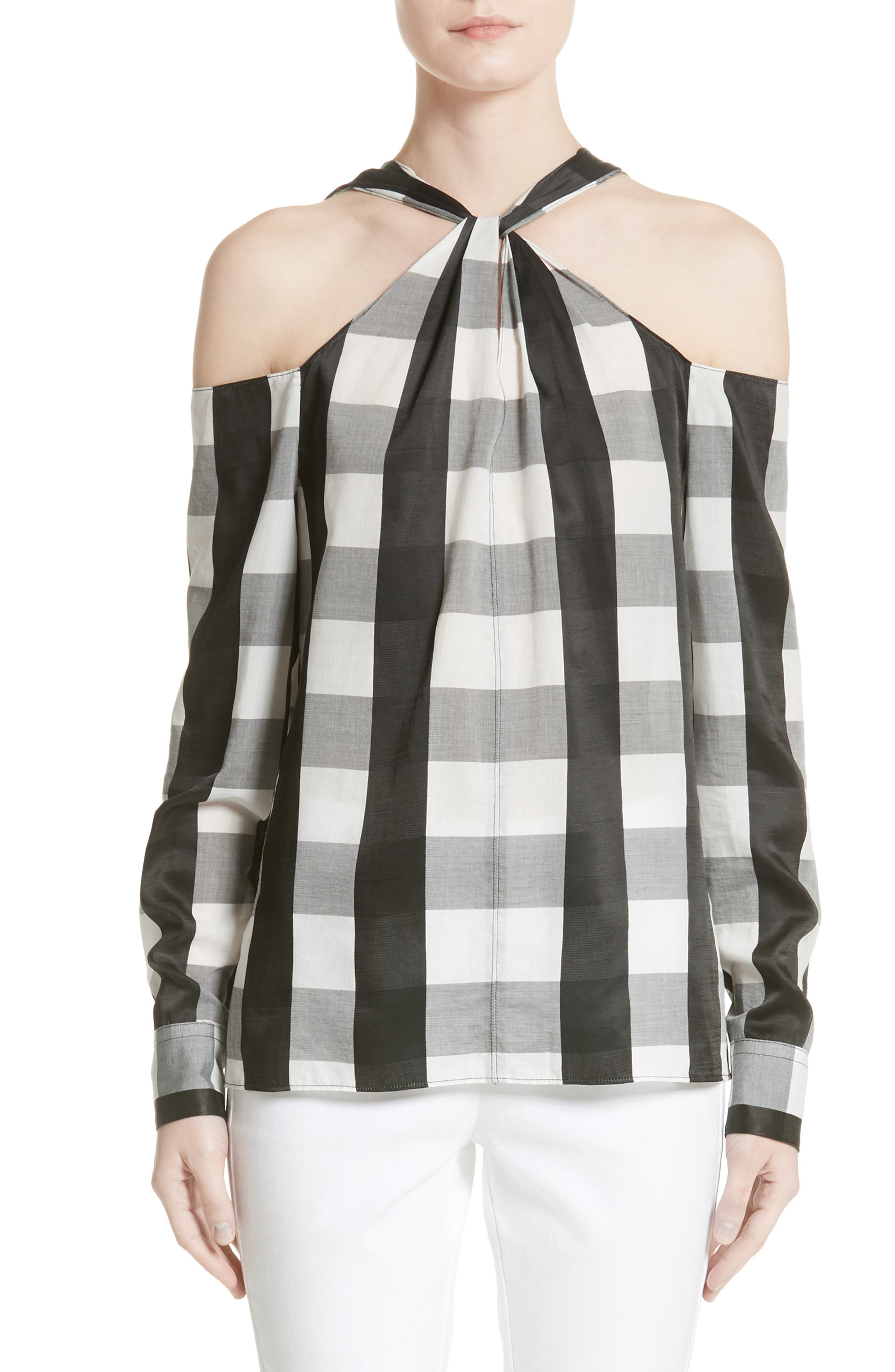 rag & bone Collingwood Cold Shoulder Top