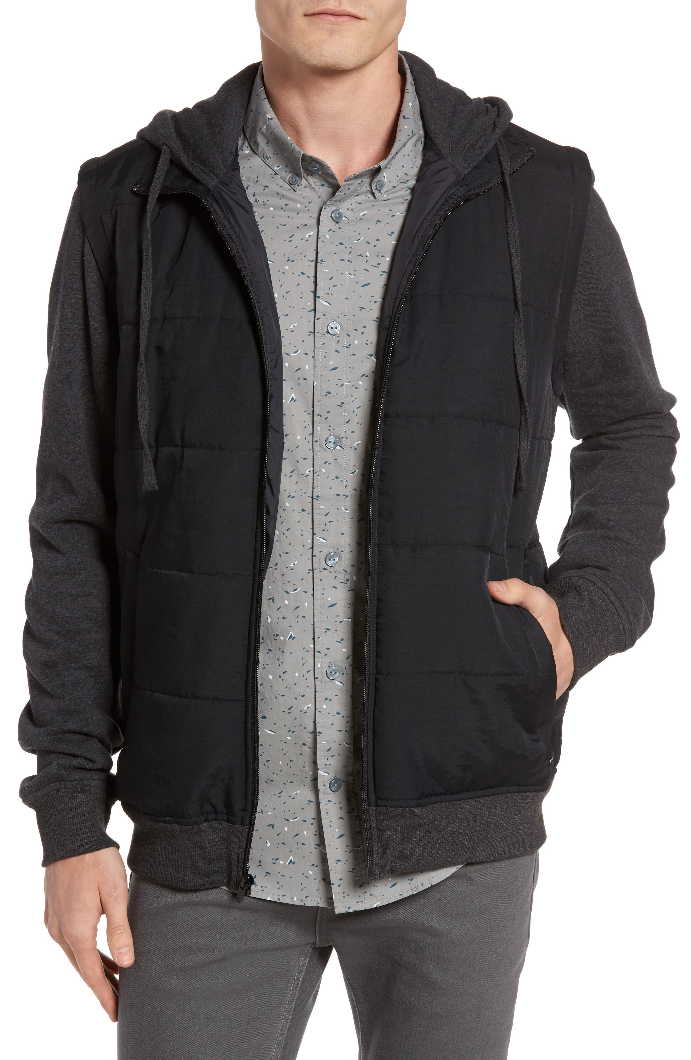 RVCA Nor-Points Zip Hoodie