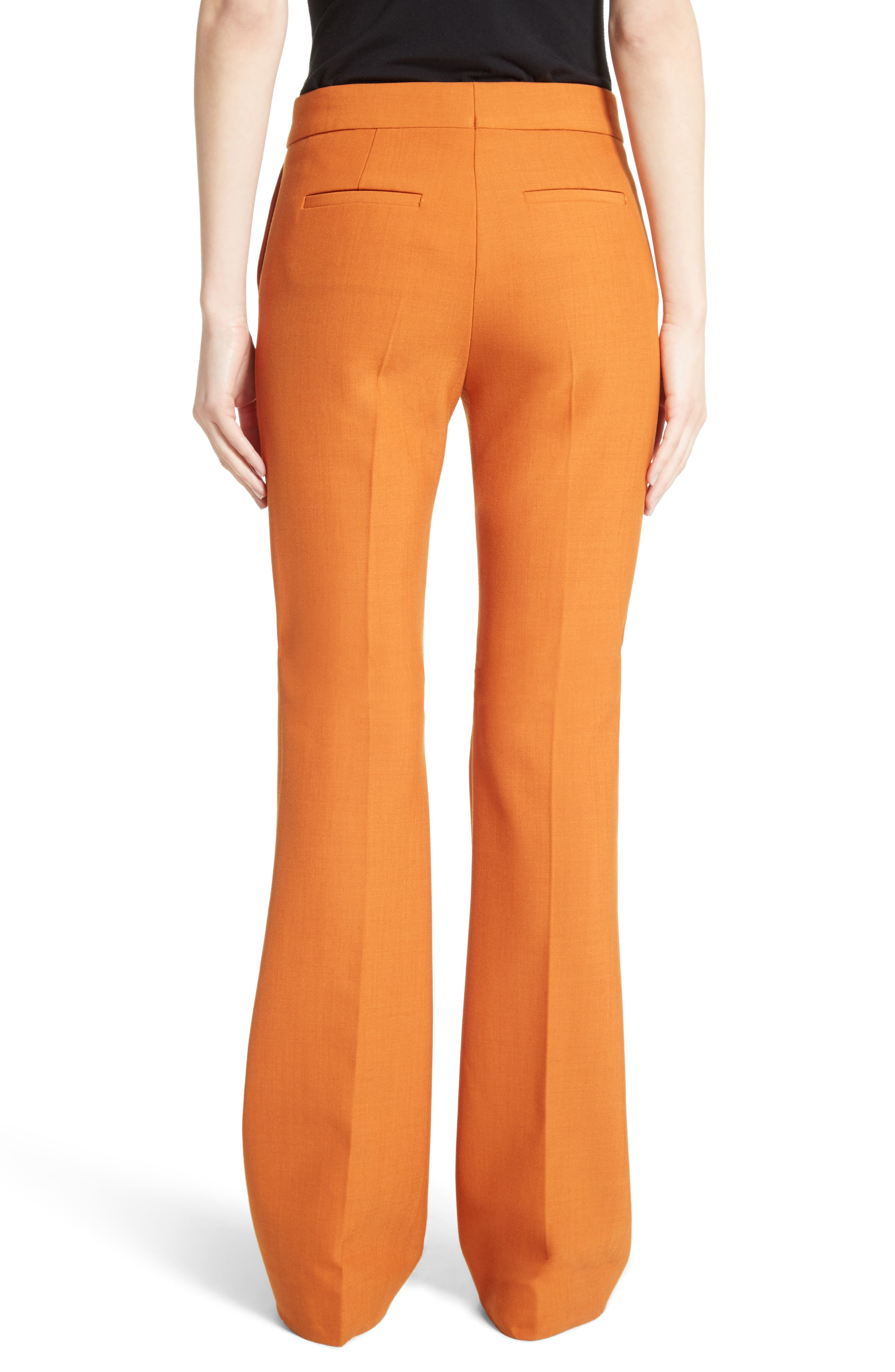 Flare Pants,                             Alternate thumbnail 3, color,                             Maple