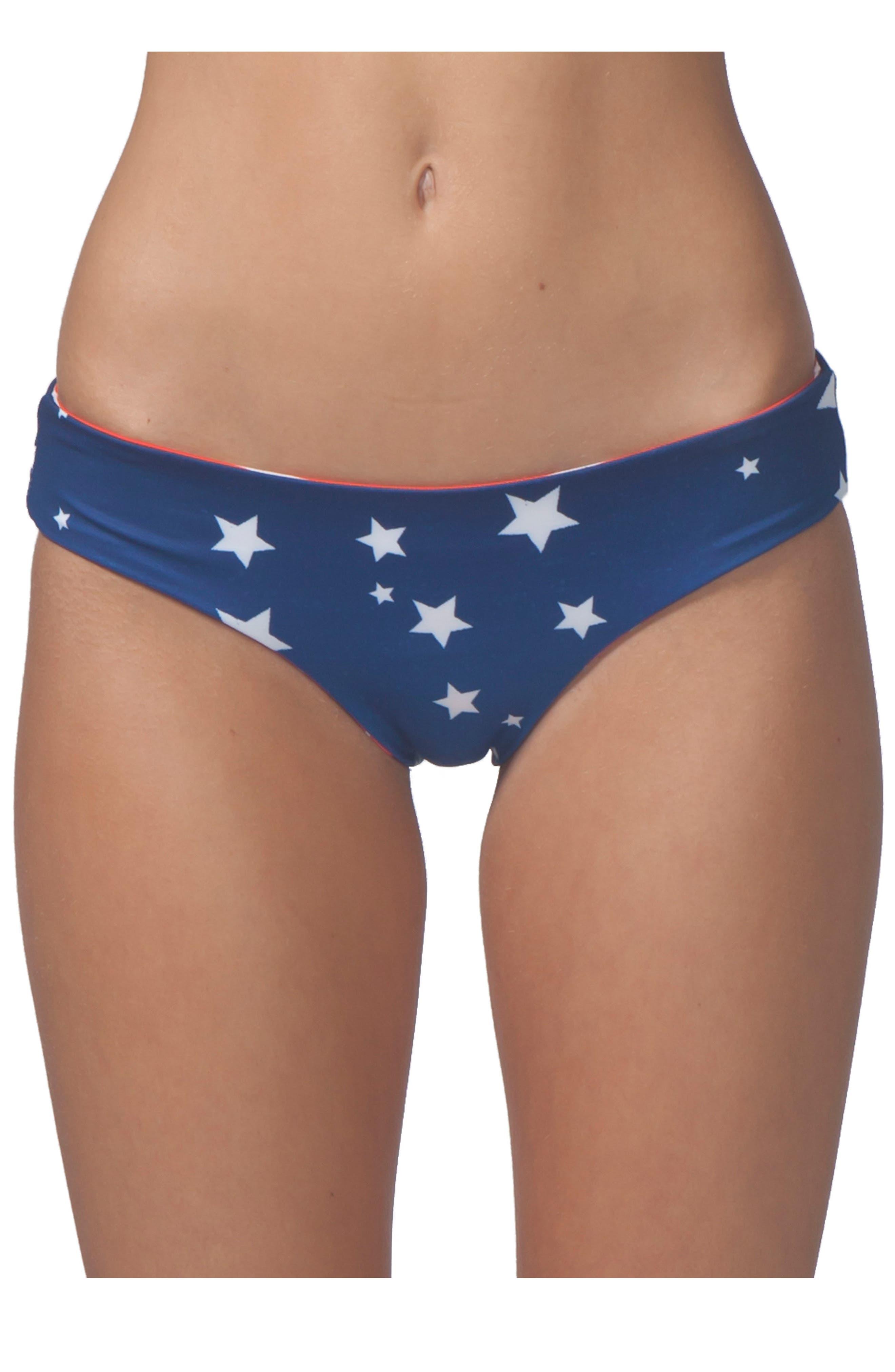 Alternate Image 3  - Rip Curl Rising Star Reversible Hipster Bikini Bottoms