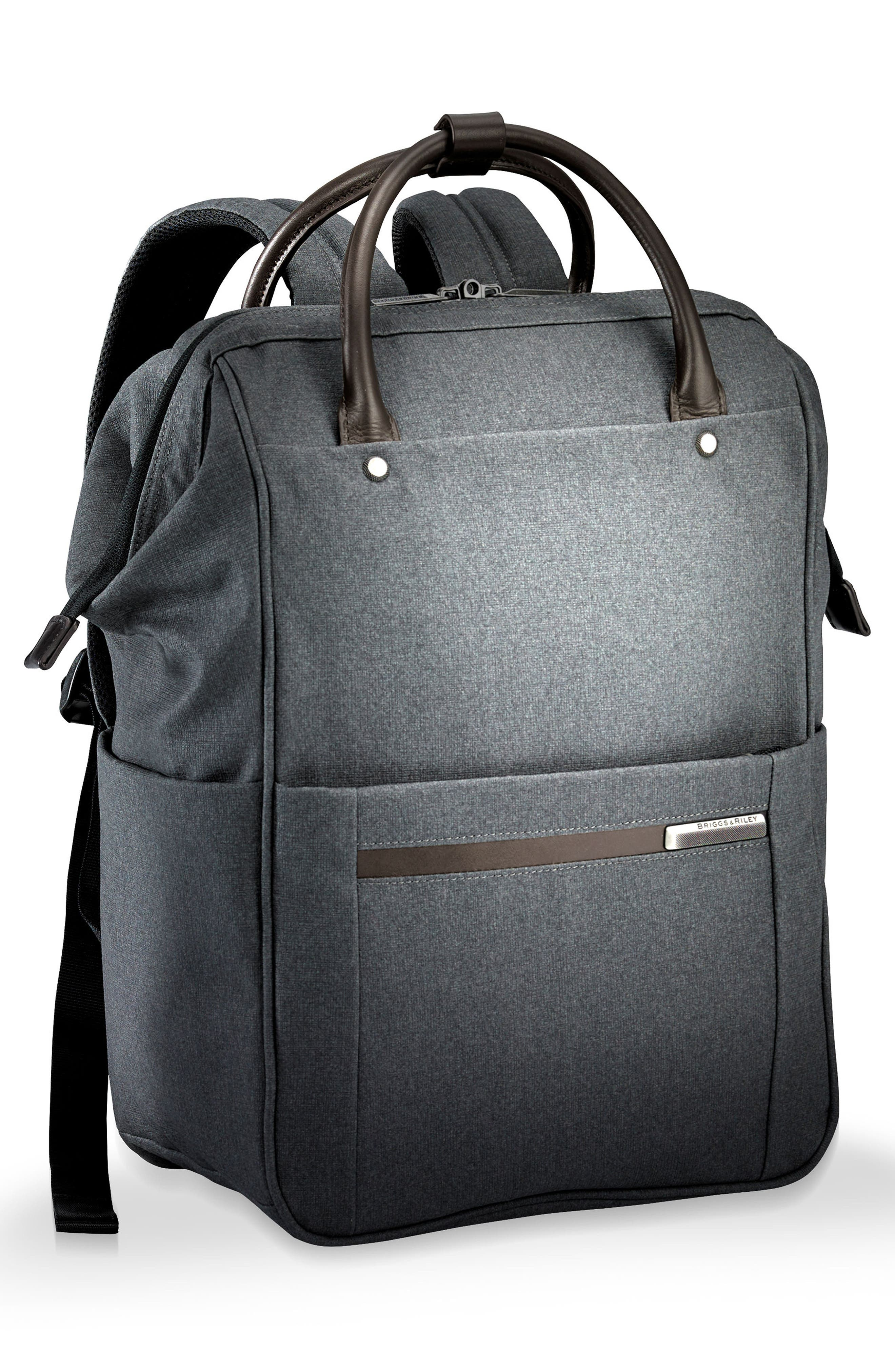 Kinzie Street Backpack,                             Alternate thumbnail 3, color,                             Grey