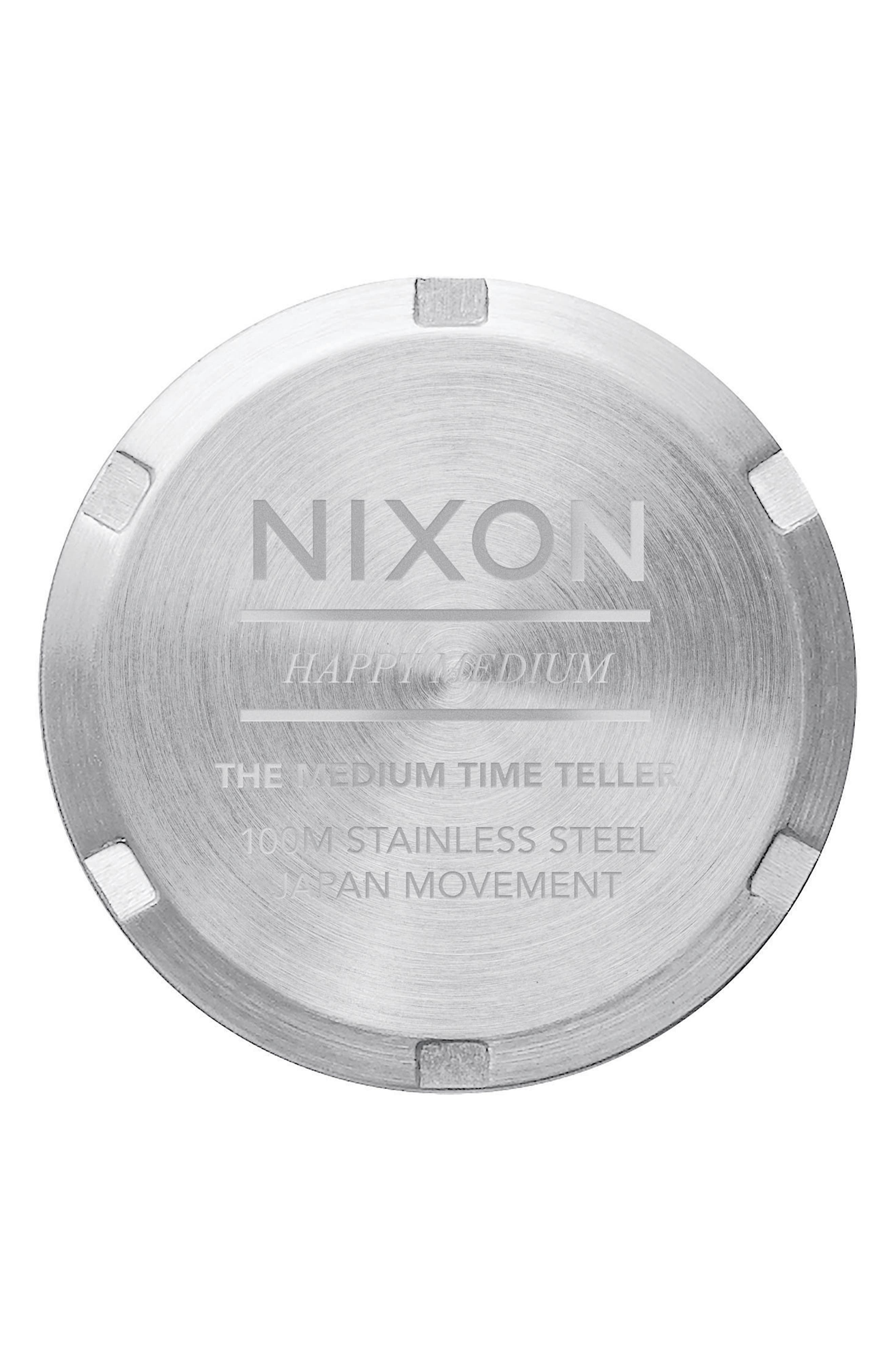 Time Teller Bracelet Watch, 31mm,                             Alternate thumbnail 4, color,                             Silver/ Navy/ Silver