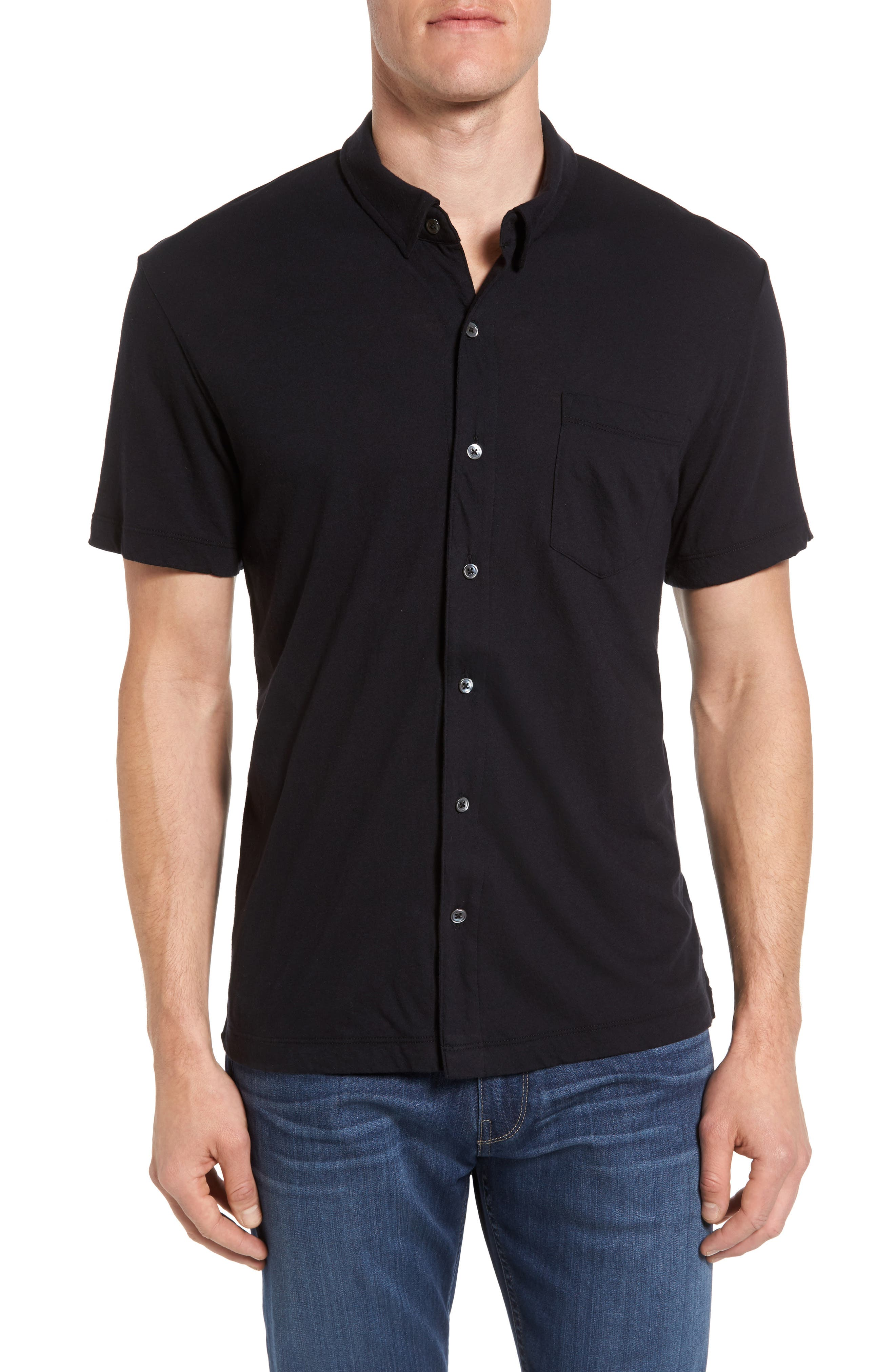 JAMES PERSE Button Down Polo