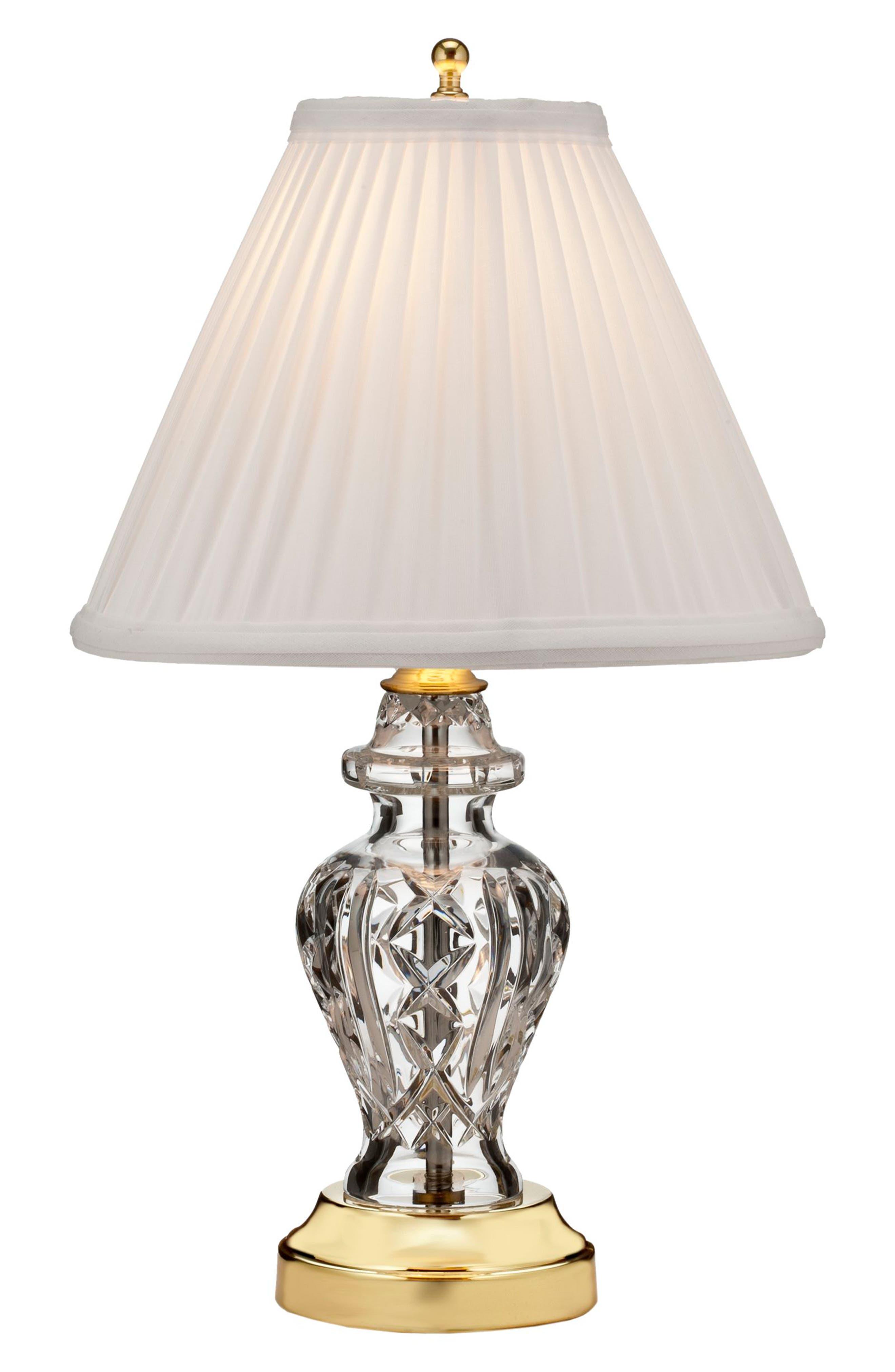 Glengariff Crystal Table Lamp,                         Main,                         color, Crystal