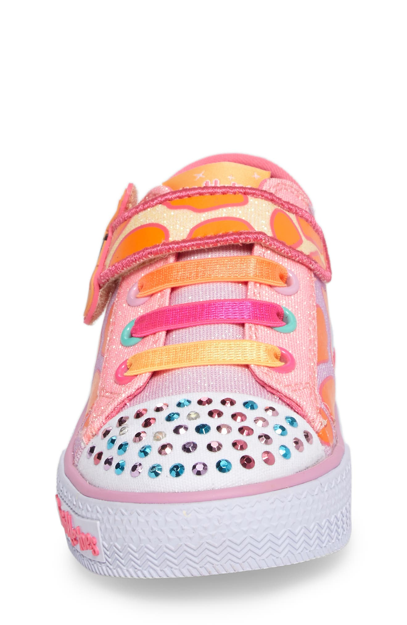 Alternate Image 4  - SKECHERS Shuffles - Party Pets Sneaker (Walker & Toddler)